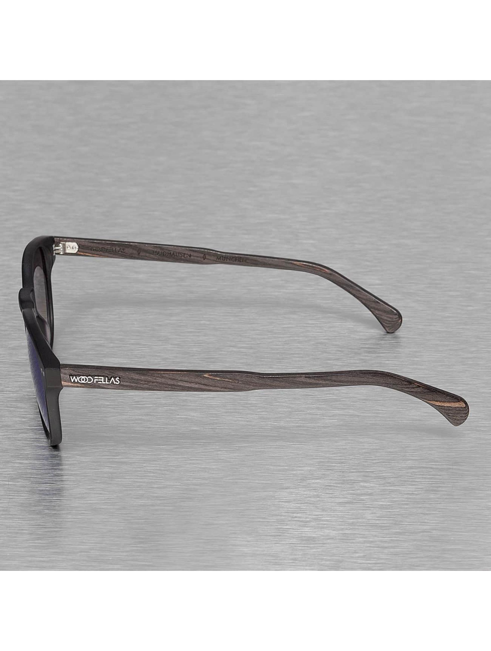 Wood Fellas Eyewear Sunglasses Eyewear Haidhausen Polarized Mirror black
