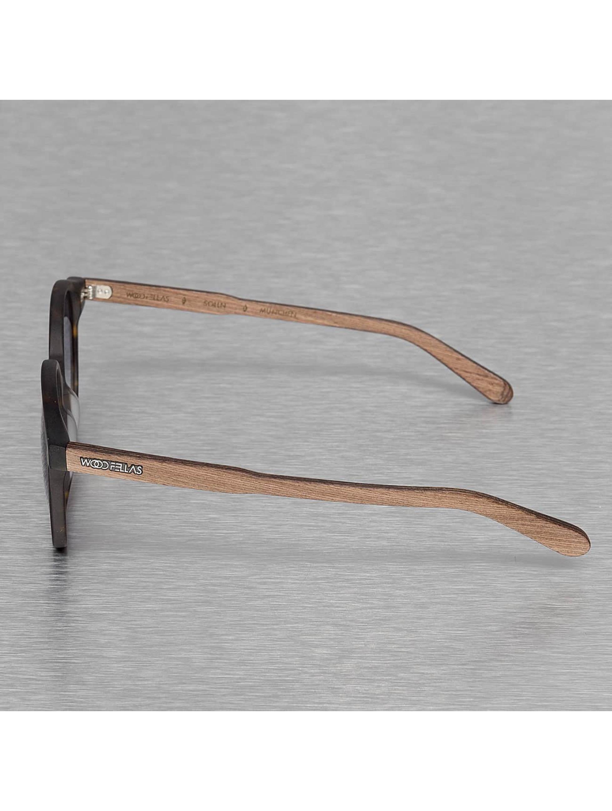 Wood Fellas Eyewear Sunglasses Eyewear Solln Polarized Mirror brown