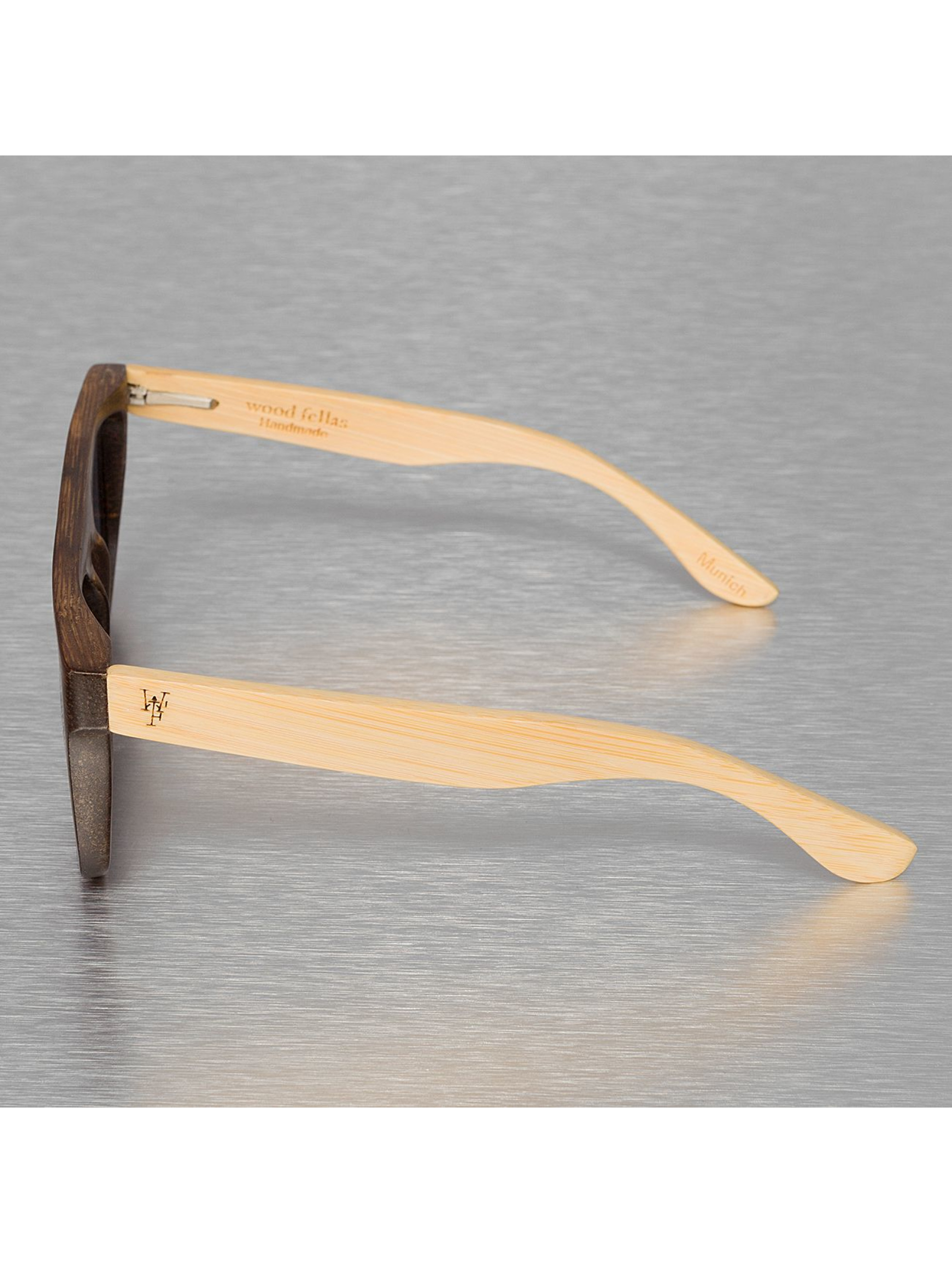 Wood Fellas Eyewear Zonnebril Wood Fellas Mino bruin