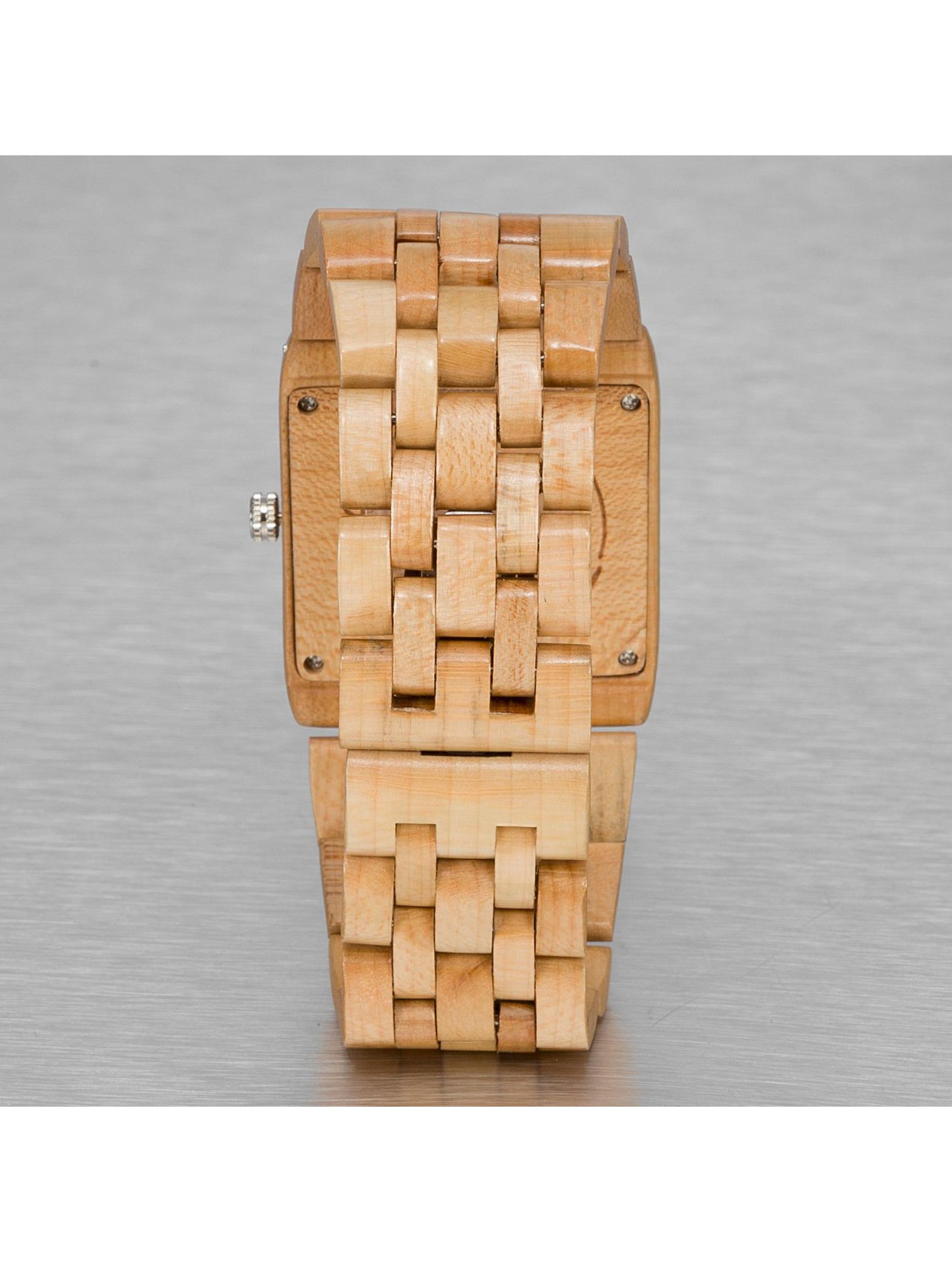 Wood Fellas horloge Wood Fellas Sanur bruin
