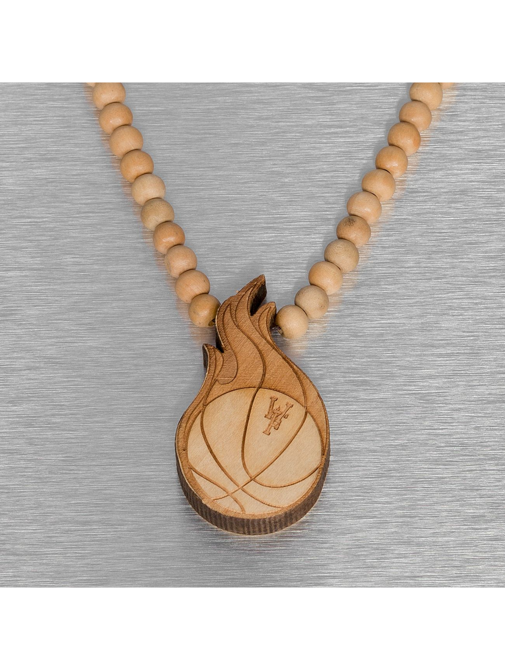 Wood Fellas Kaulaketjut Wood Fellas Basketball ruskea
