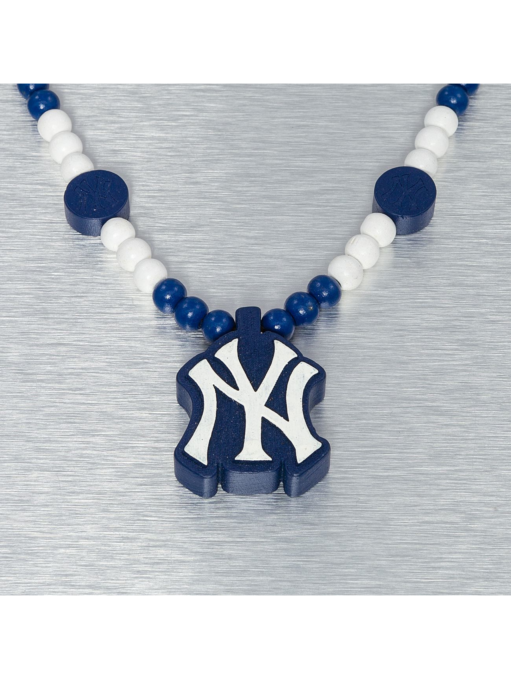 Wood Fellas Kaulaketjut MLB Wood Fellas NY Yankees sininen