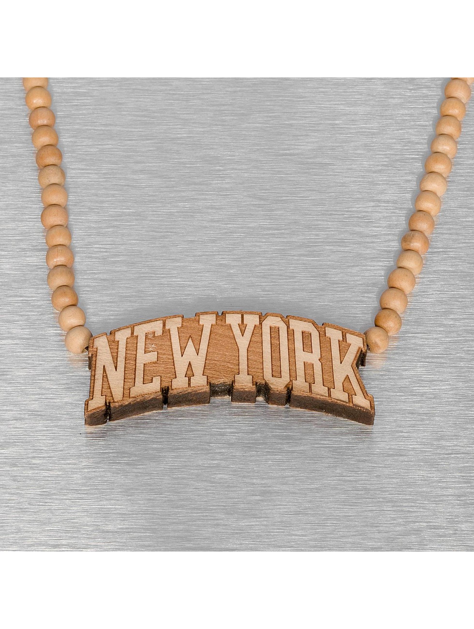 Wood Fellas ketting Wood Fellas New York bruin