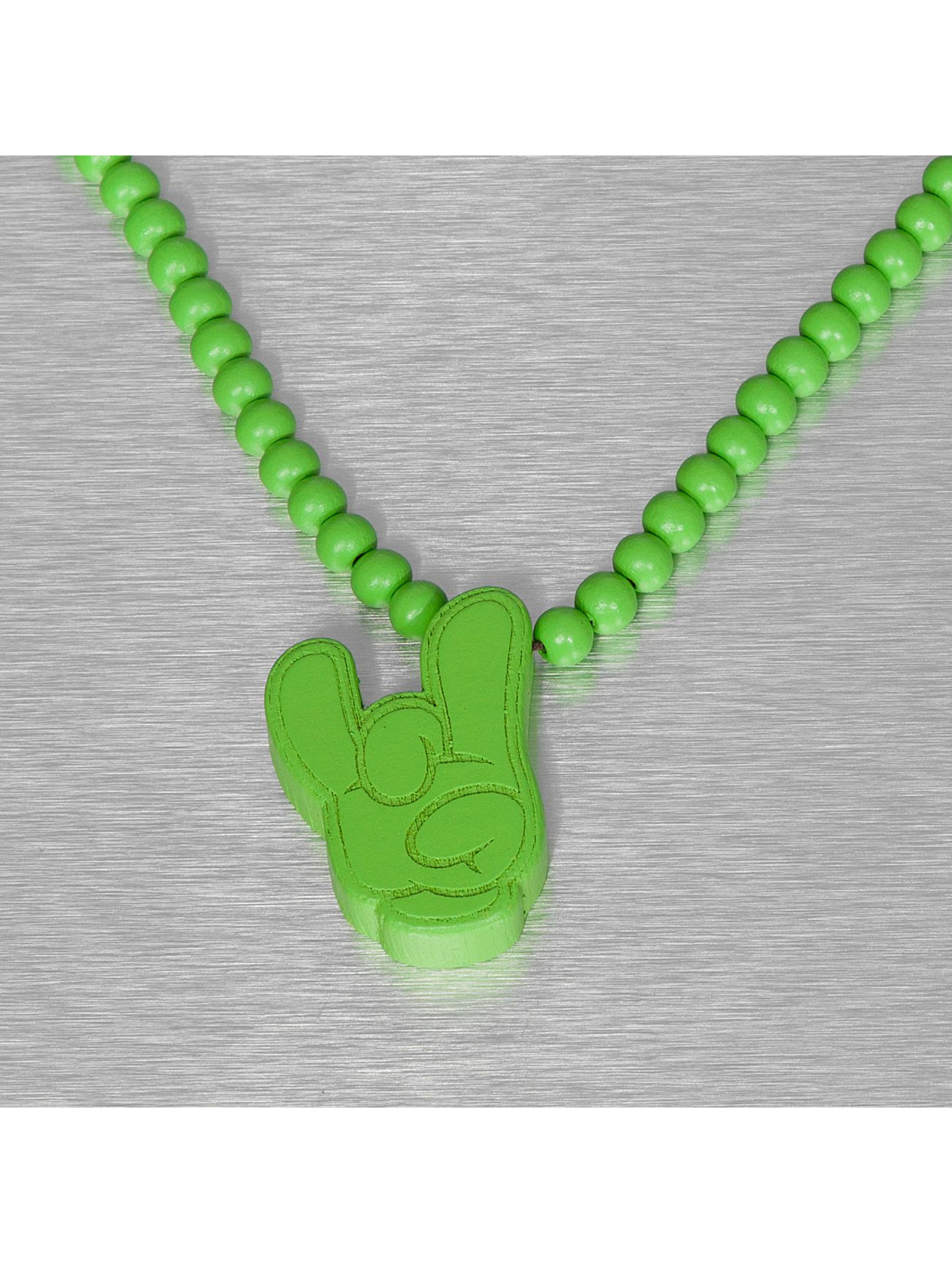 Wood Fellas ketting Wood Fellas Comic Rock groen