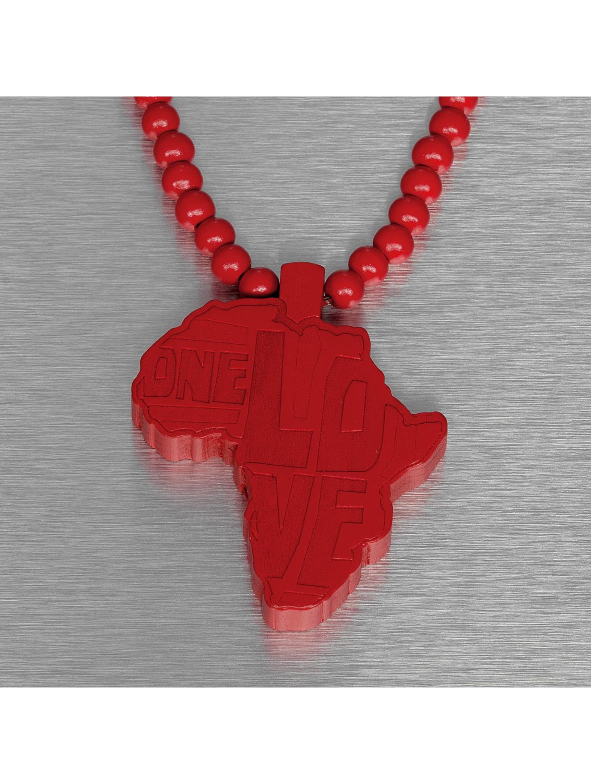 Wood Fellas ketting Wood Fellas Africa rood