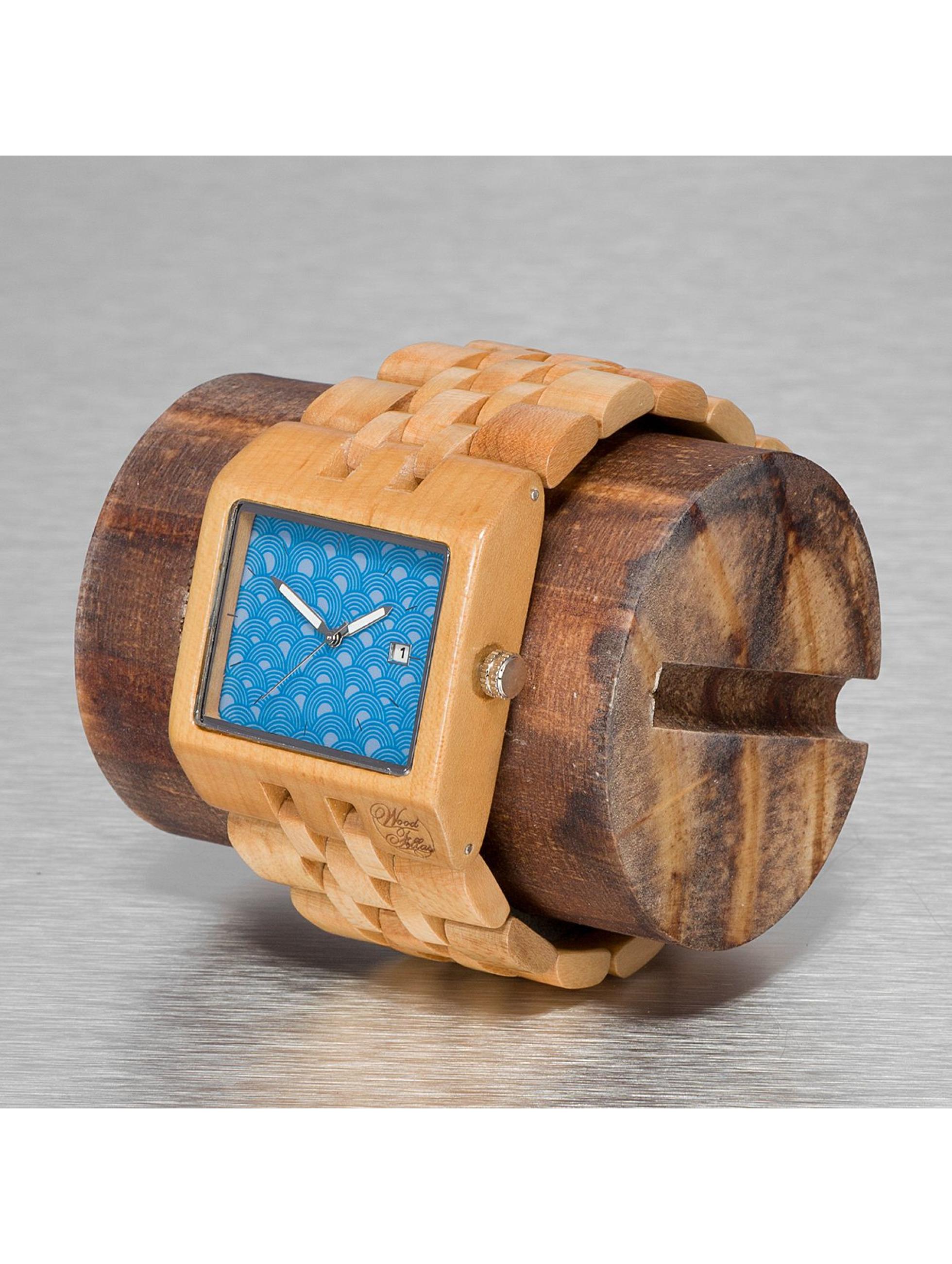 Wood Fellas Montre Wood Fellas Sanur brun