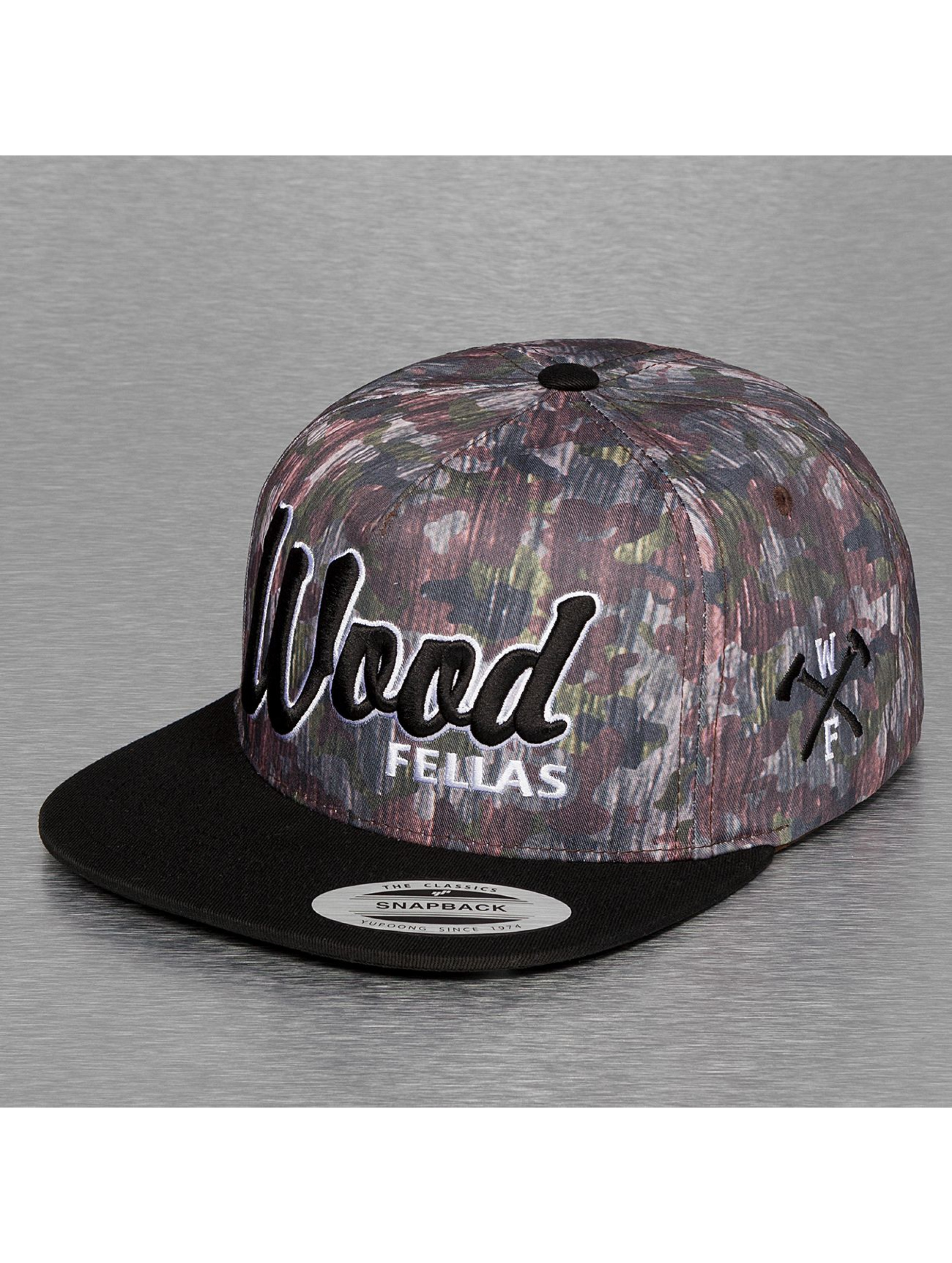 Wood Fellas Snapback Cap Da Wood bunt