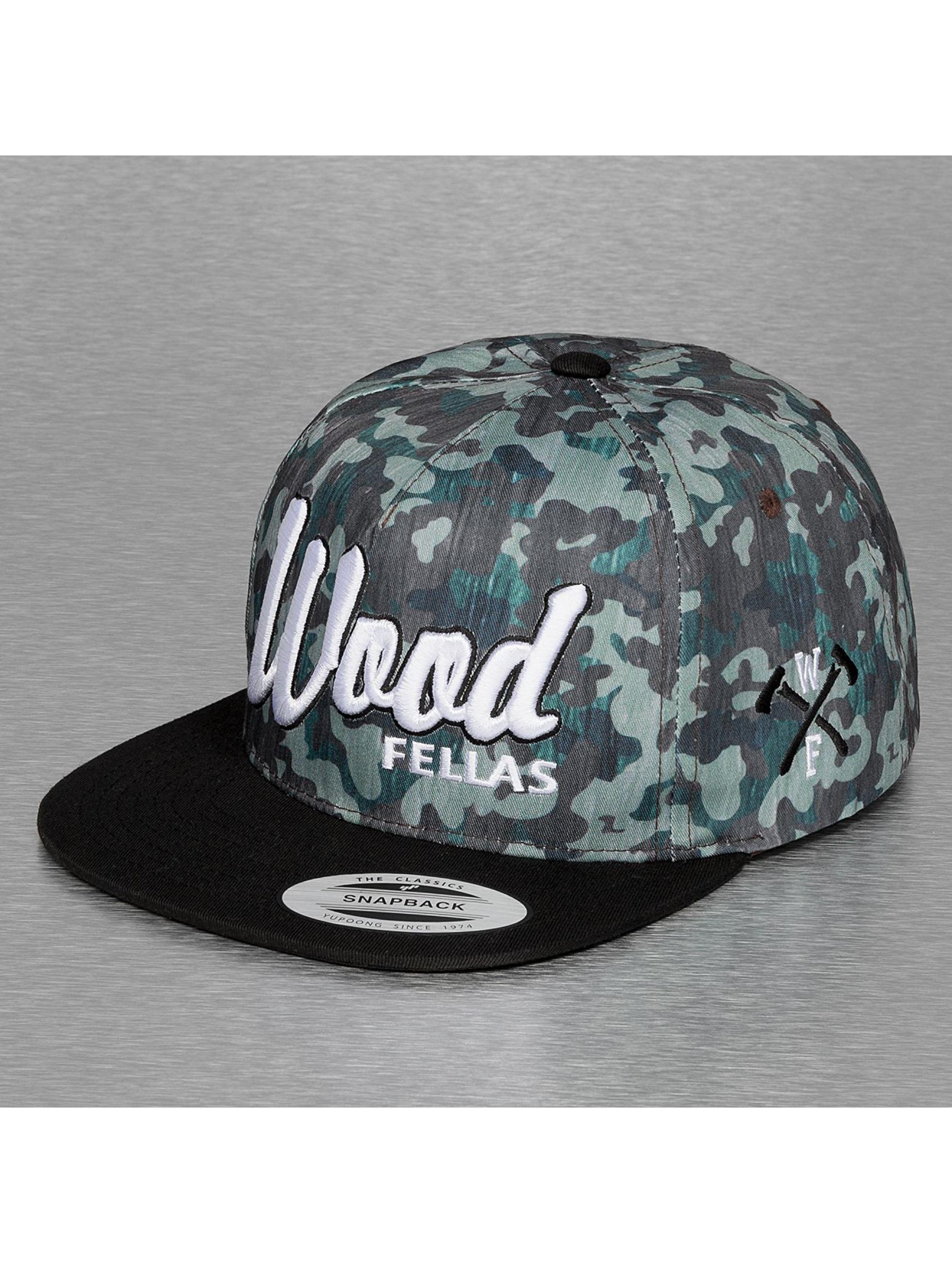 Wood Fellas Snapback Cap Da Wood camouflage