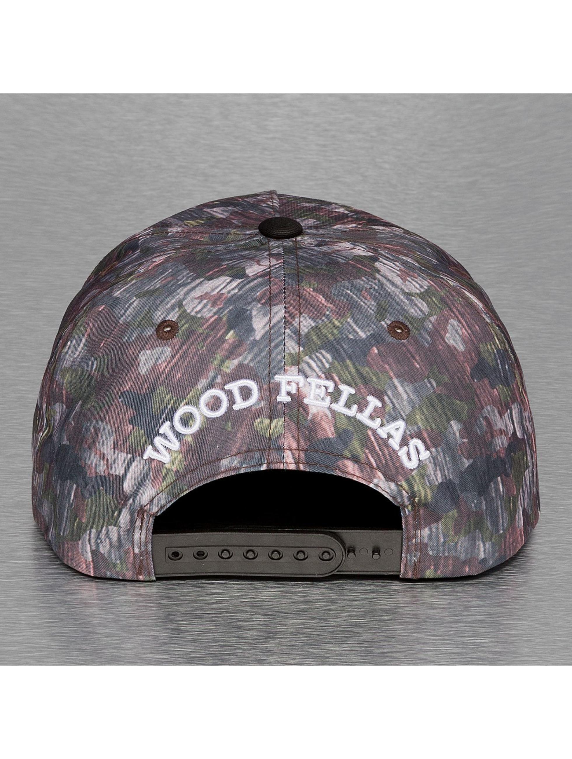 Wood Fellas Snapback Caps Da Wood kirjava