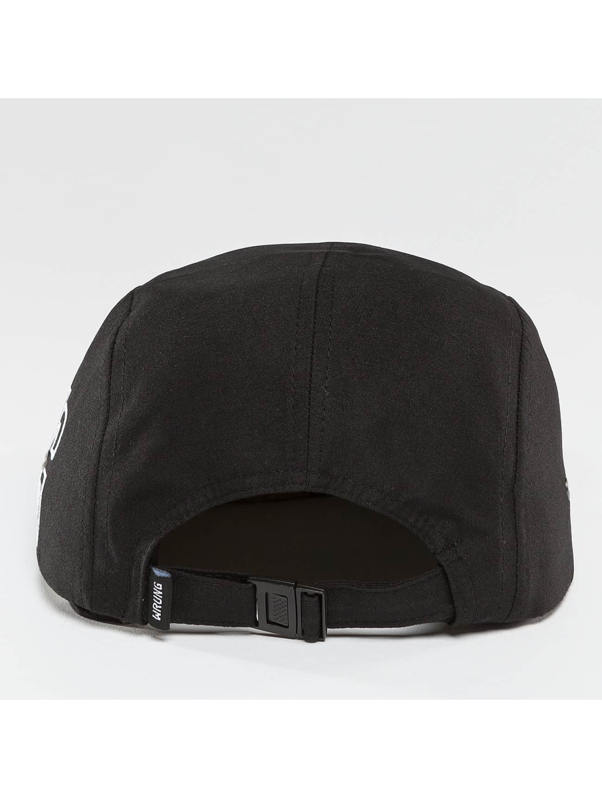 Wrung Division 5 Panel Caps Side èierna
