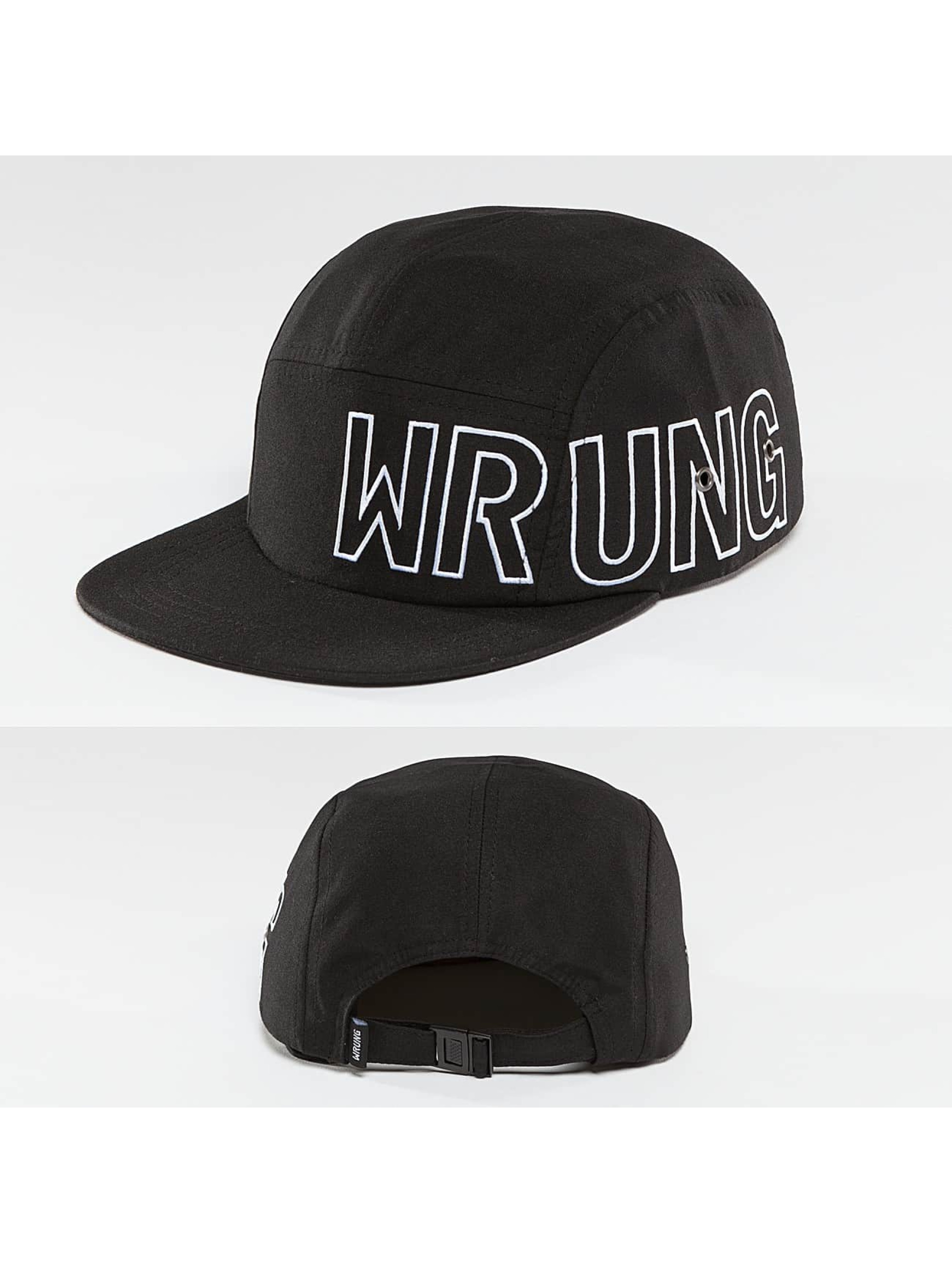 Wrung Division 5 Panel Caps Side czarny