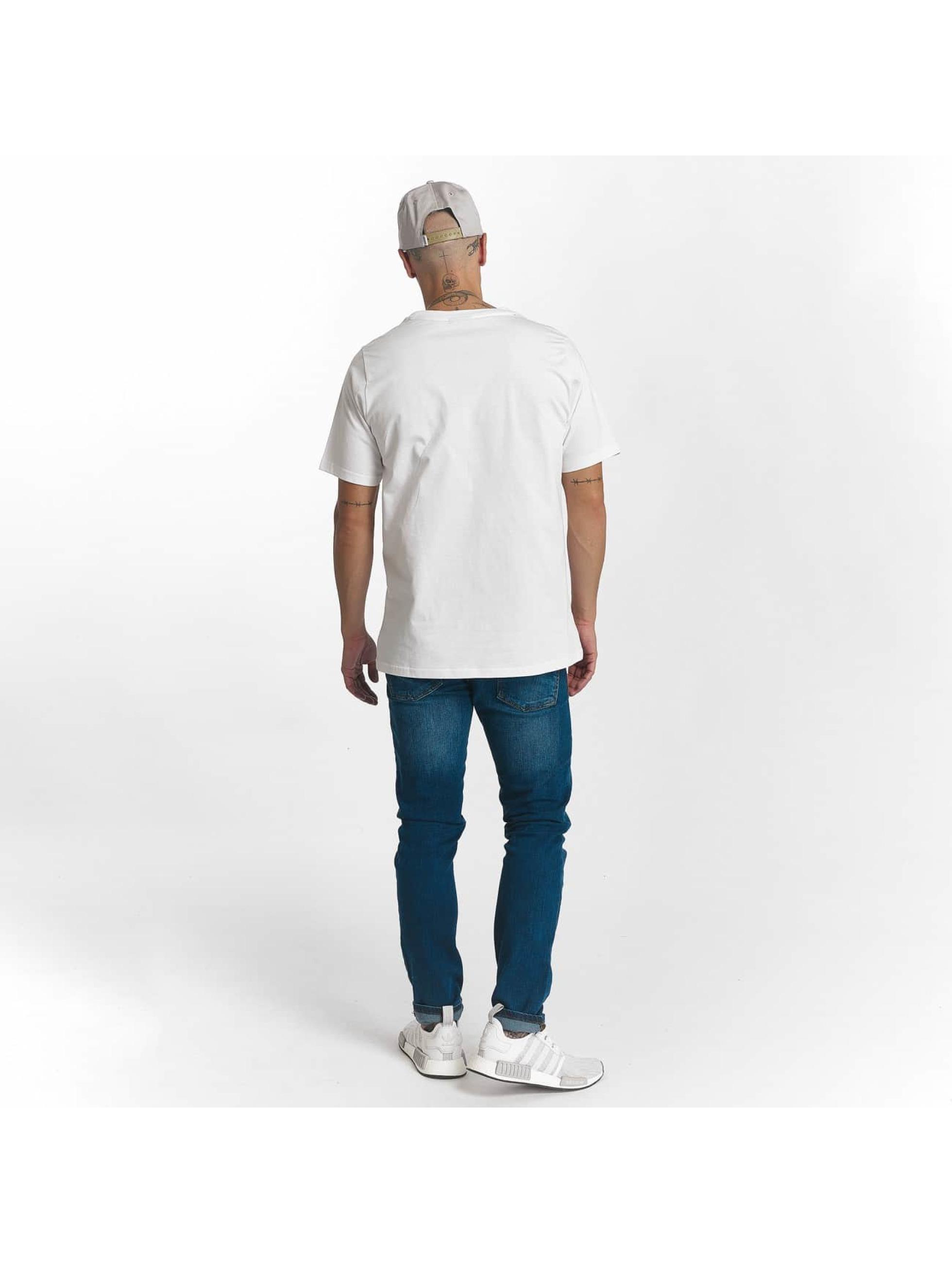 Wrung Division Camiseta Sign Camo blanco