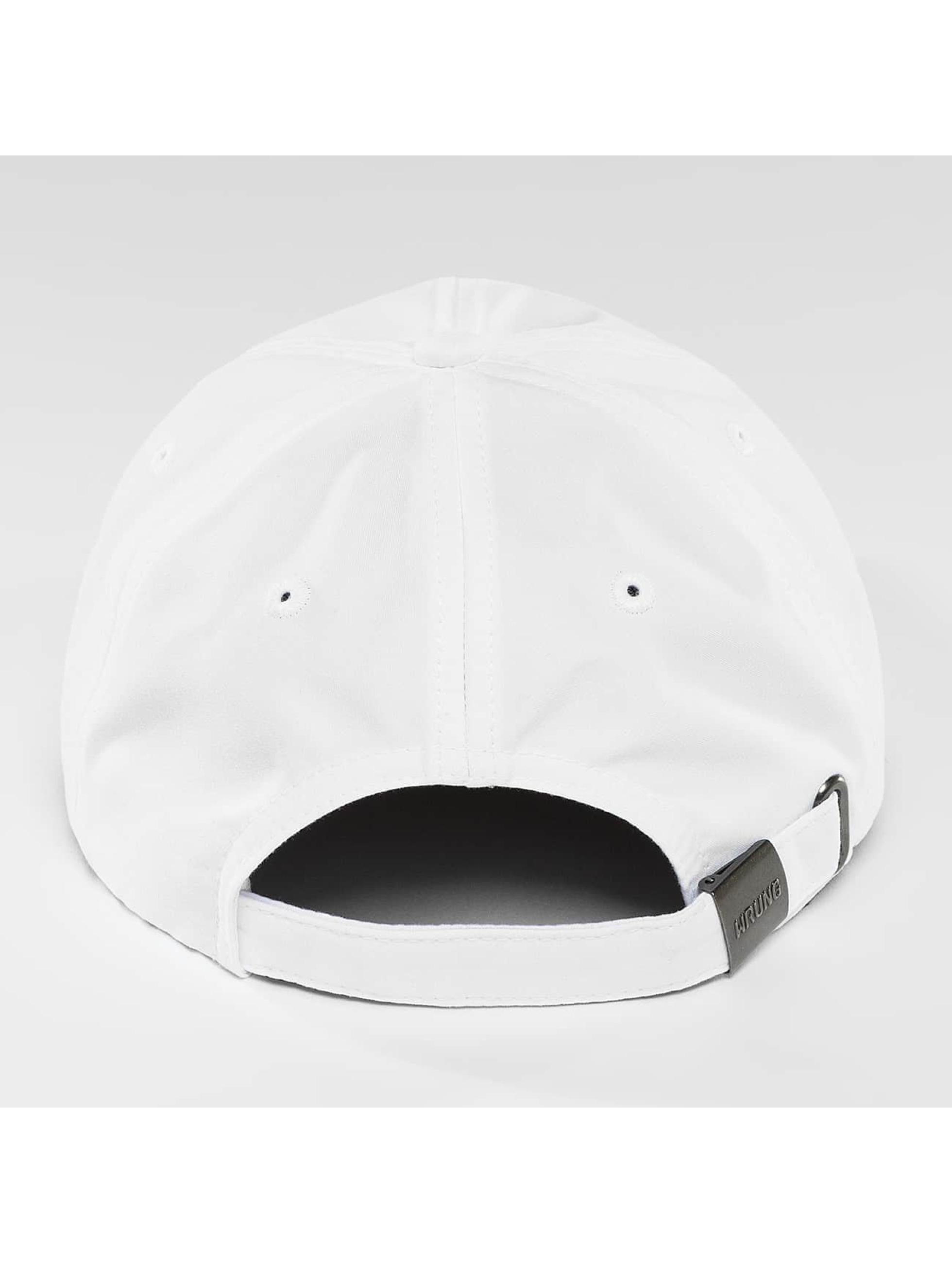 Wrung Division Casquette Snapback & Strapback Small Box blanc