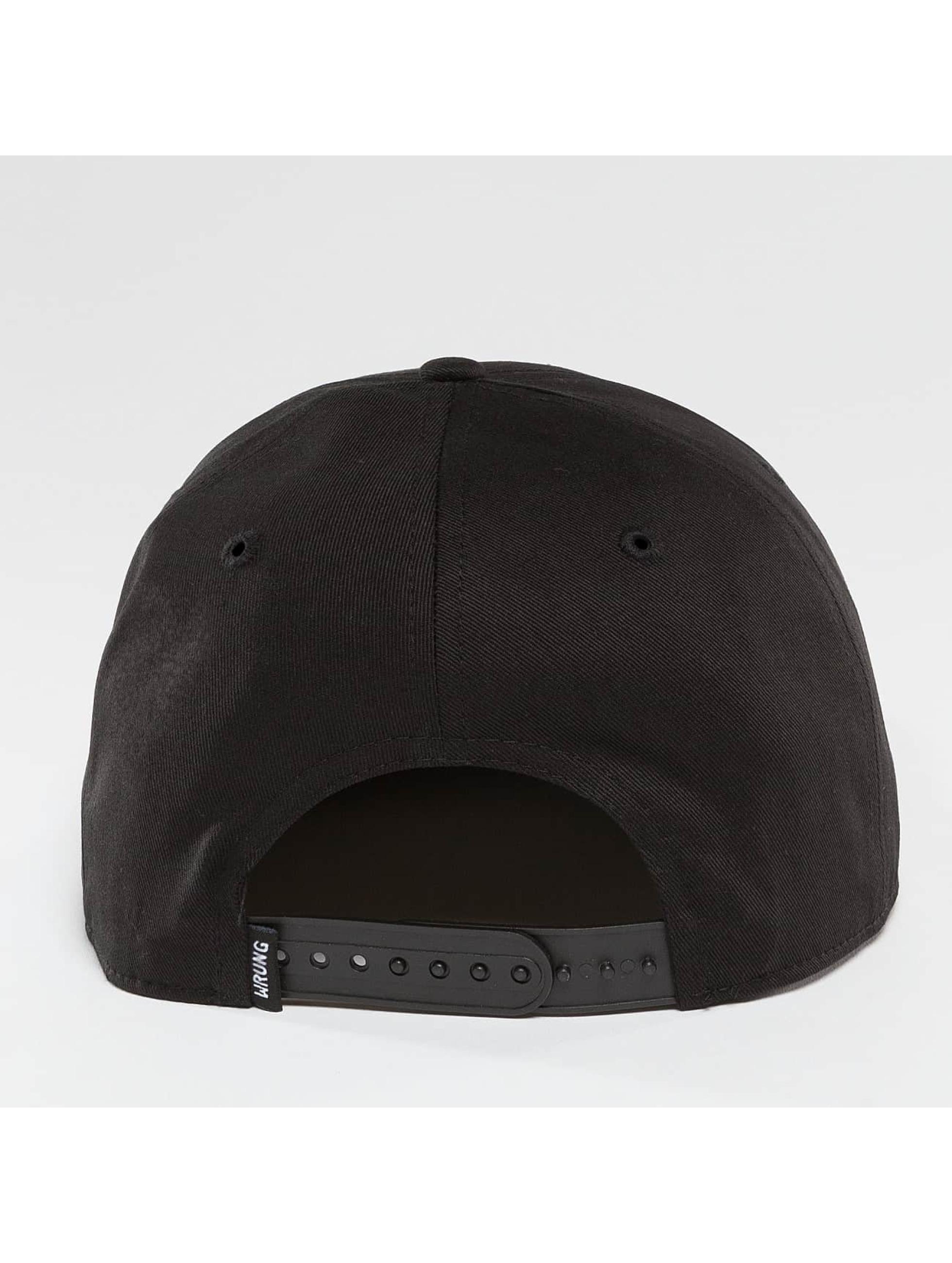 Wrung Division Casquette Snapback & Strapback Box noir