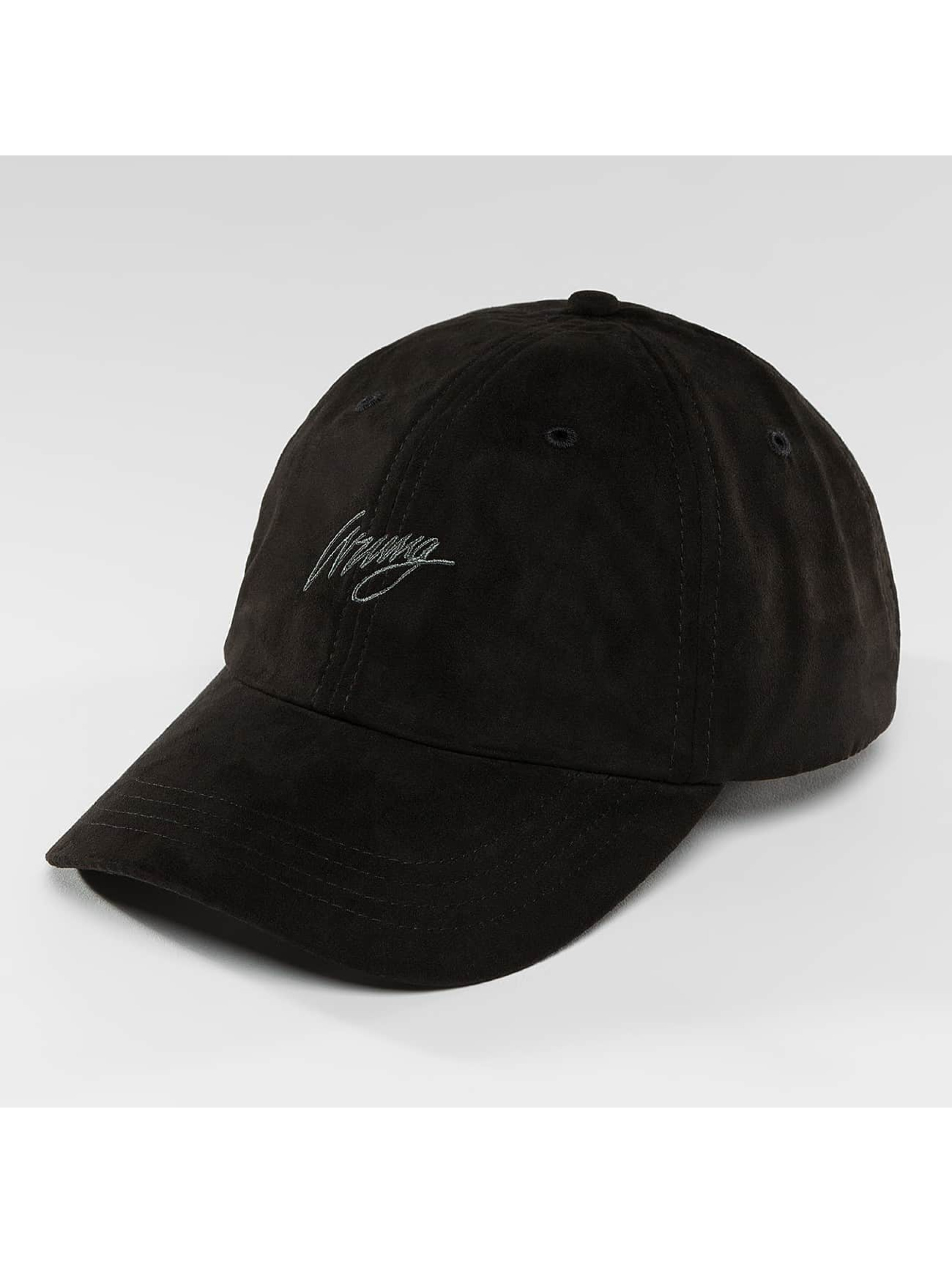 Wrung Division Casquette Snapback & Strapback Daim noir
