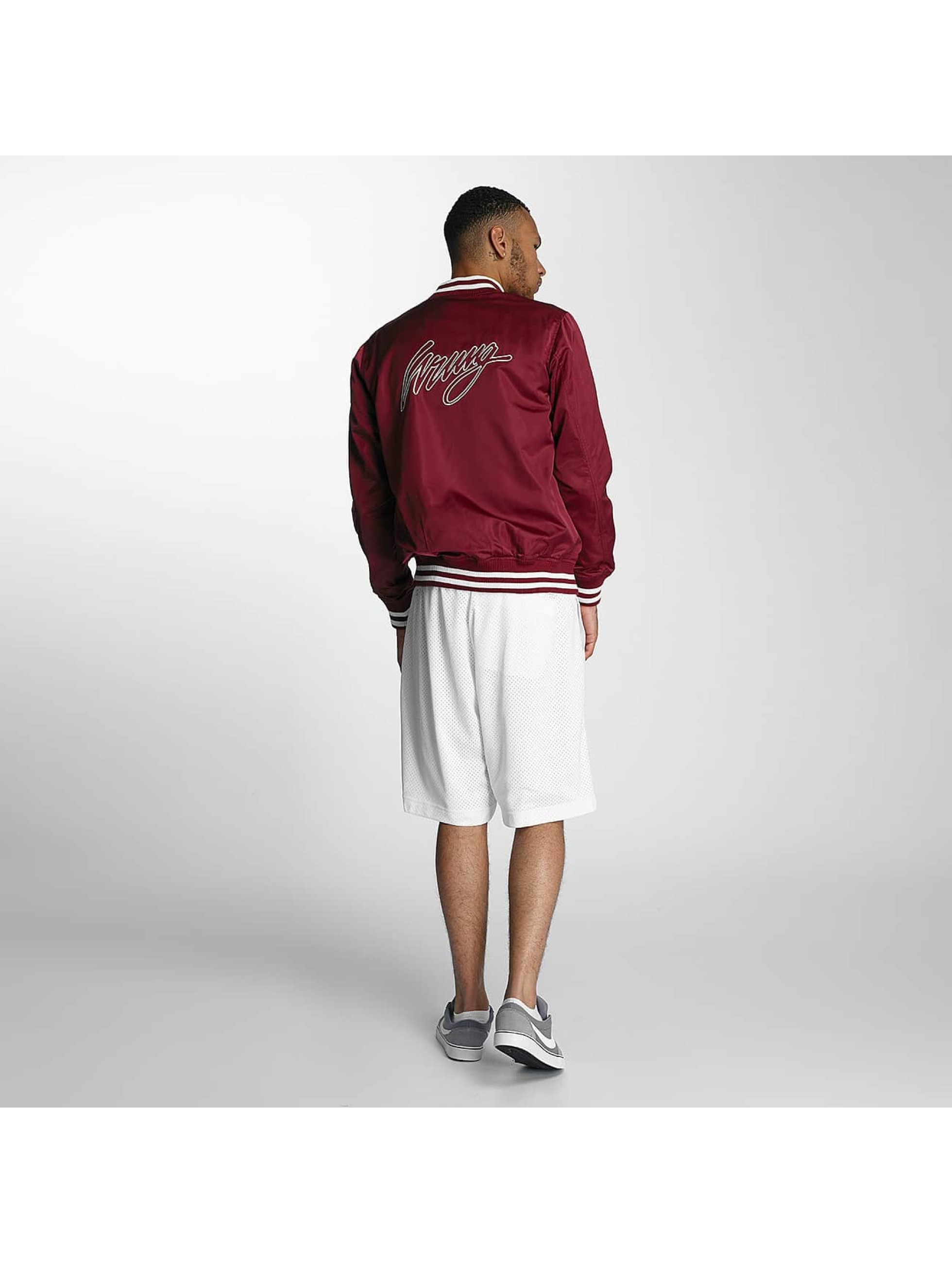 Wrung Division College Jacke Touchdown rot