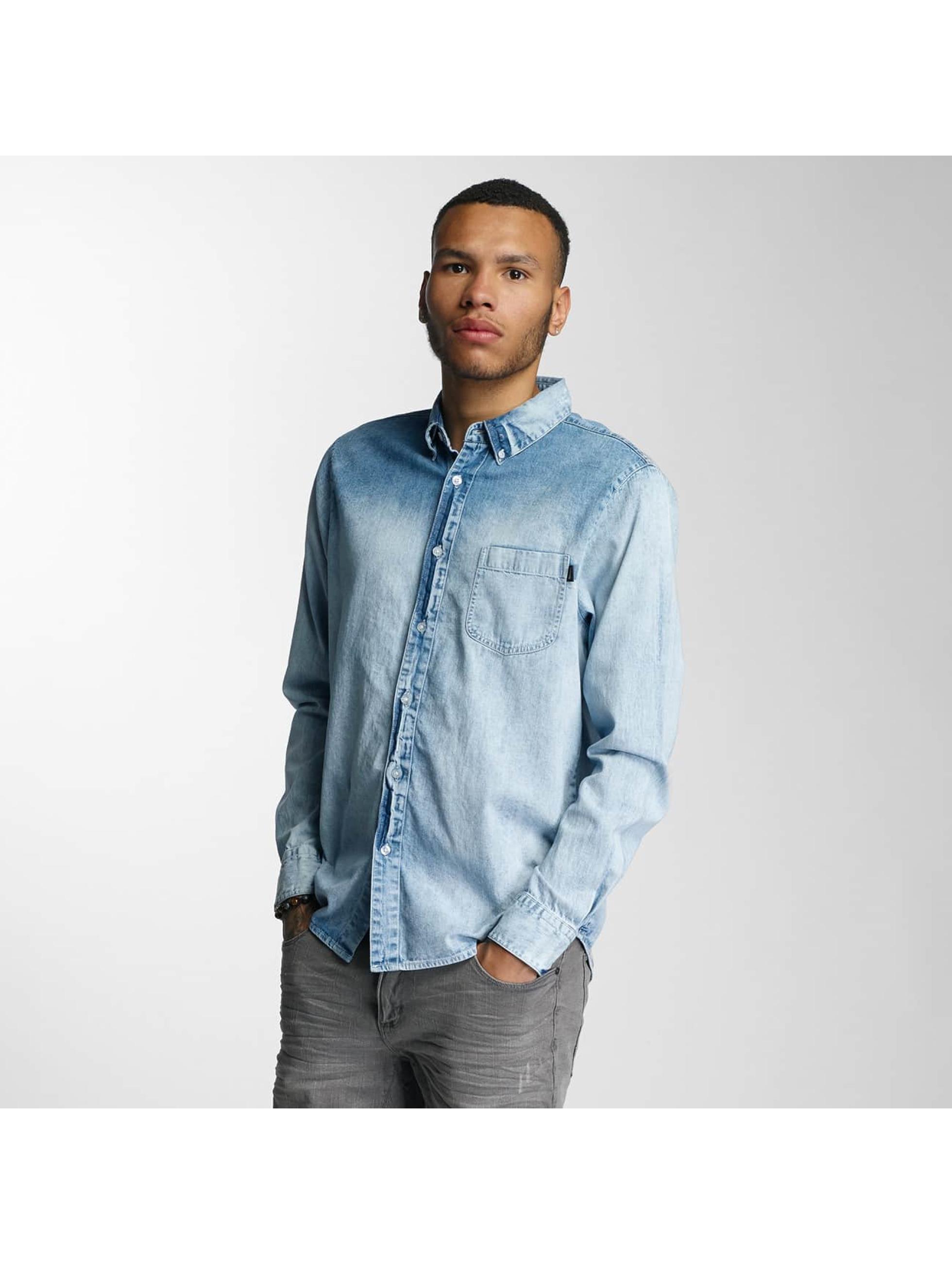 Wrung Division Hemd Kirk blau
