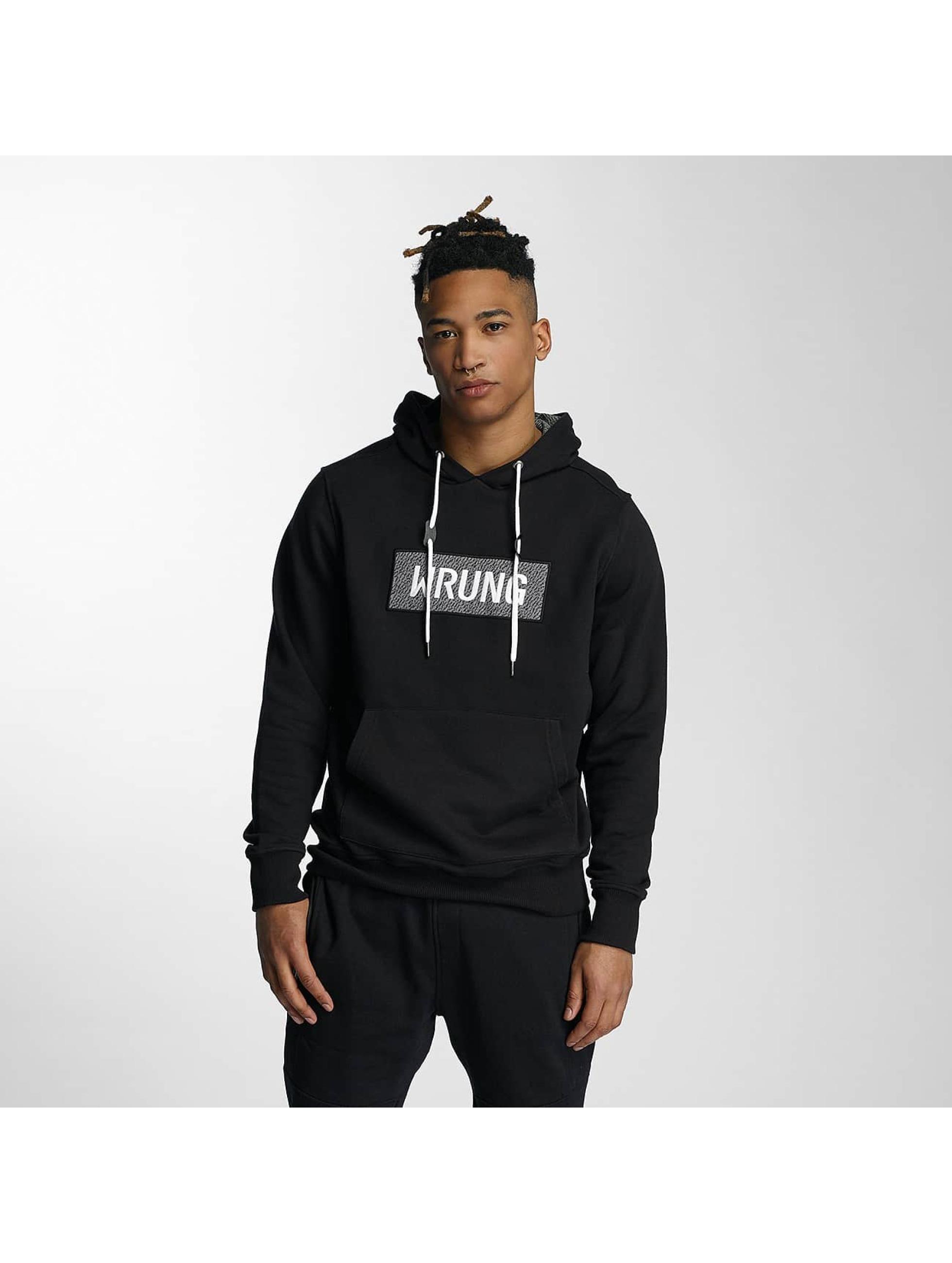 Wrung Division Hoodie Black Box black