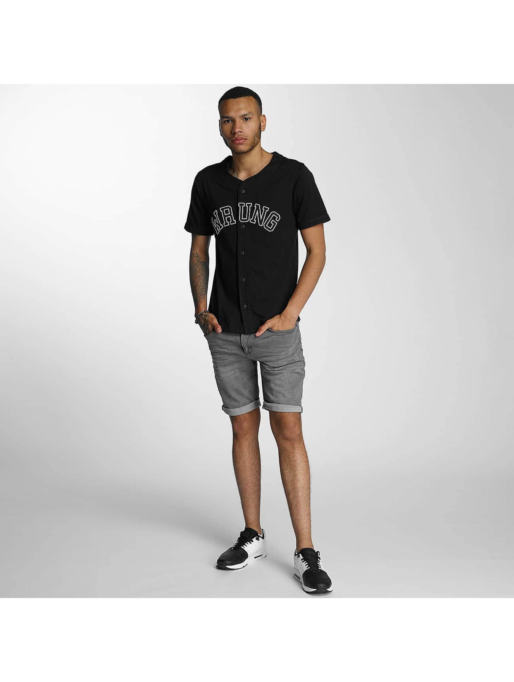 Wrung Division Koszule Hitman Baseball czarny