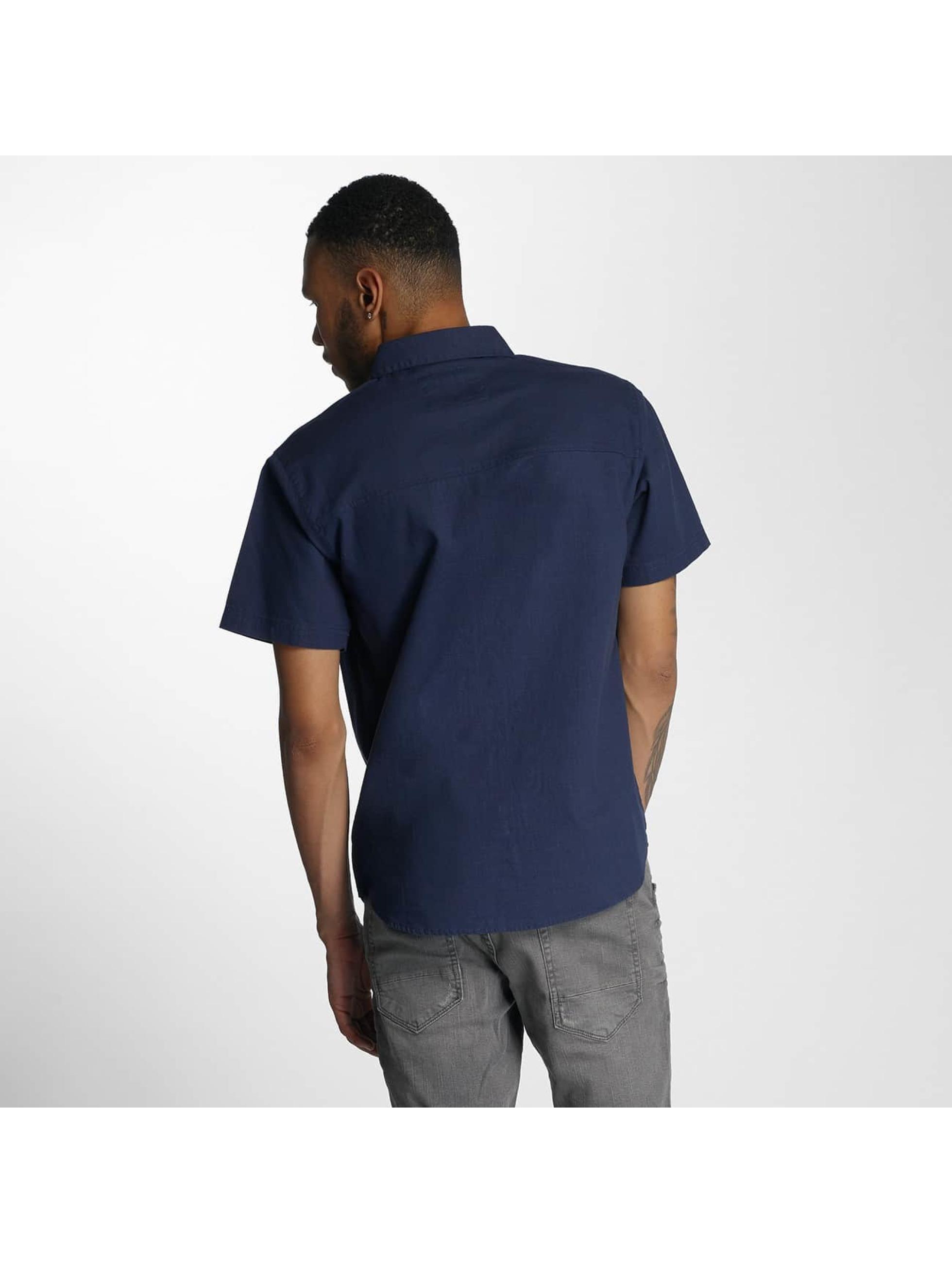 Wrung Division Koszule Linen indygo