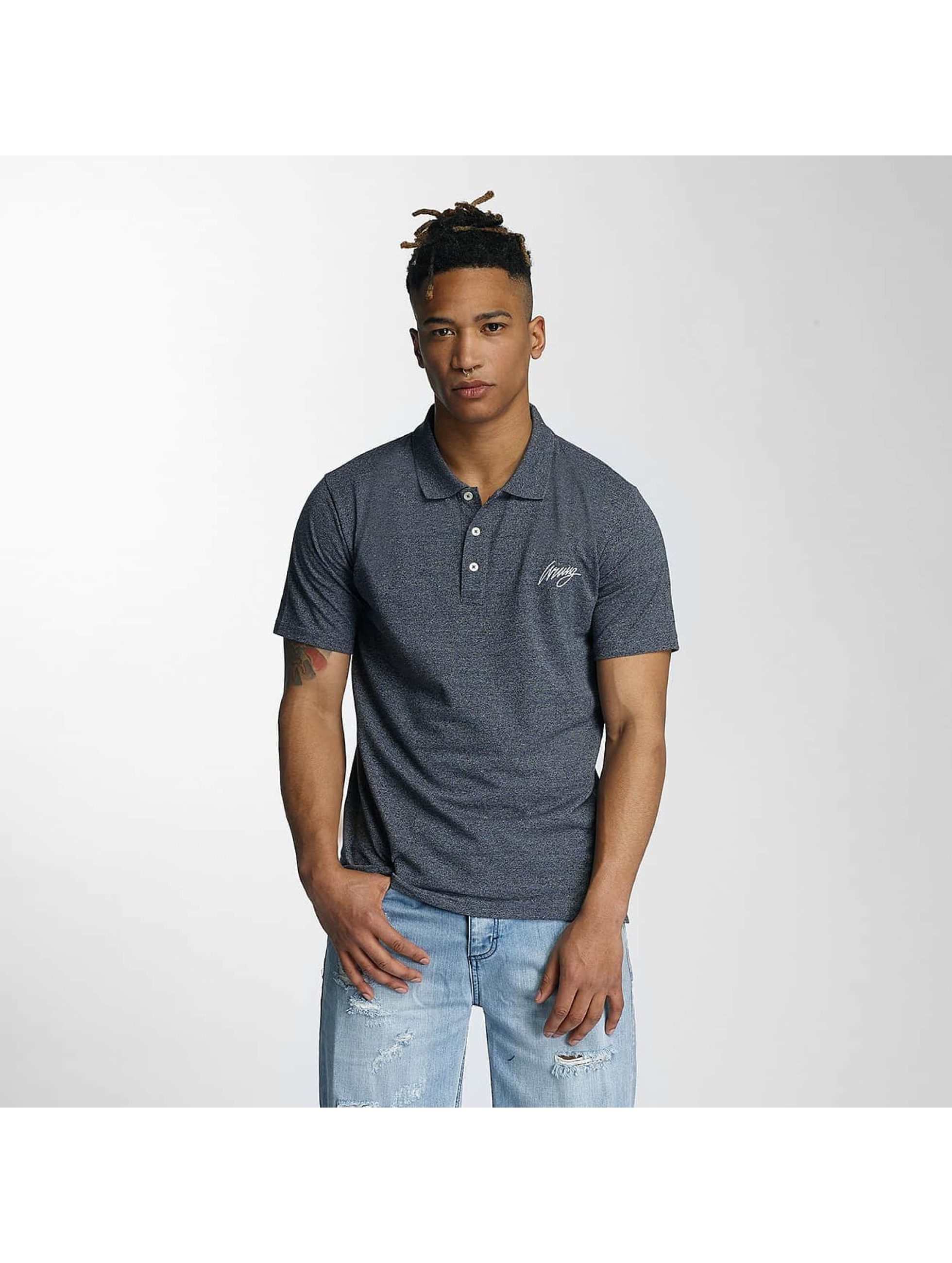 Wrung Division Koszulki Polo Signature niebieski