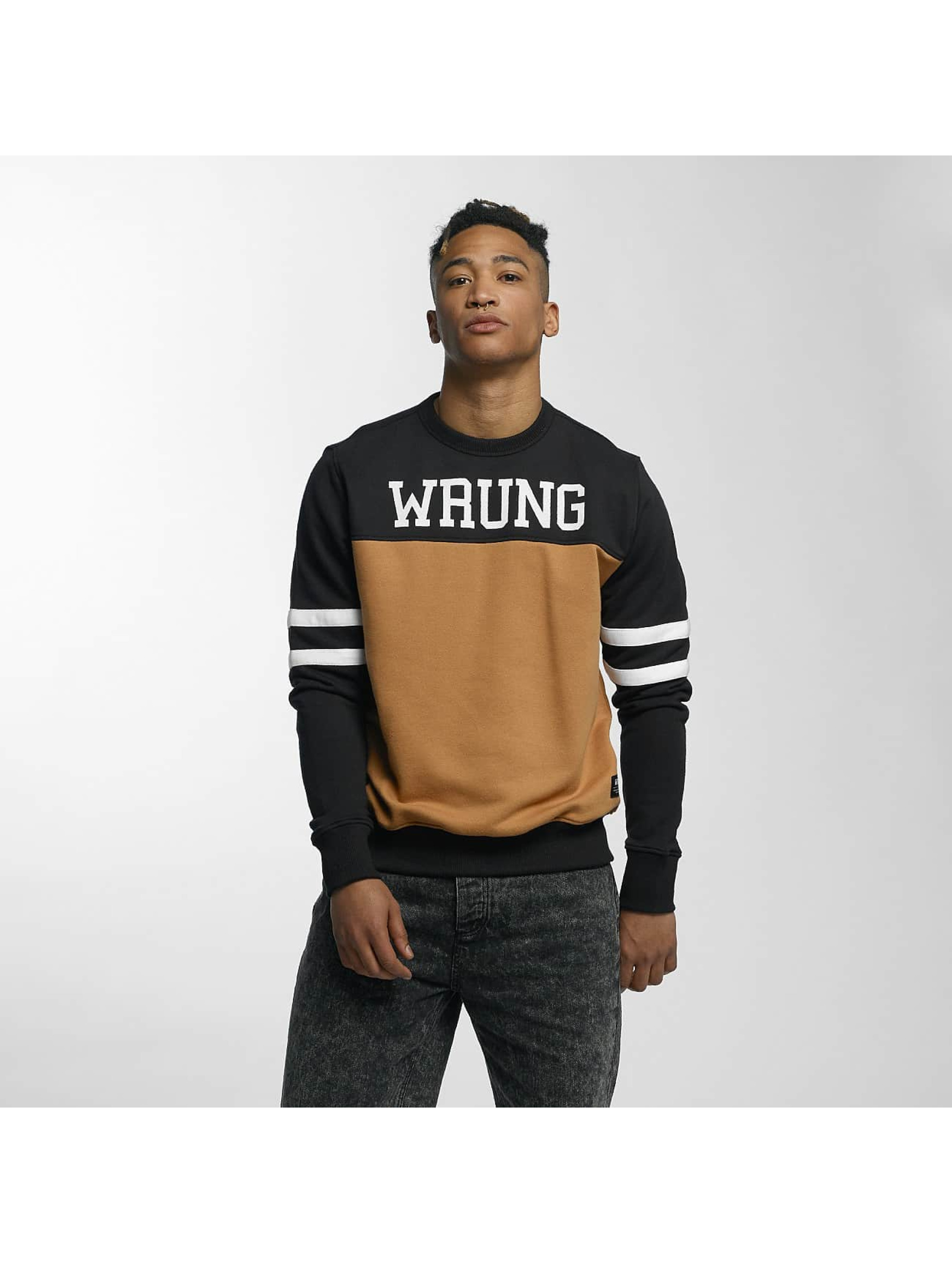 Wrung Division Pullover Team black