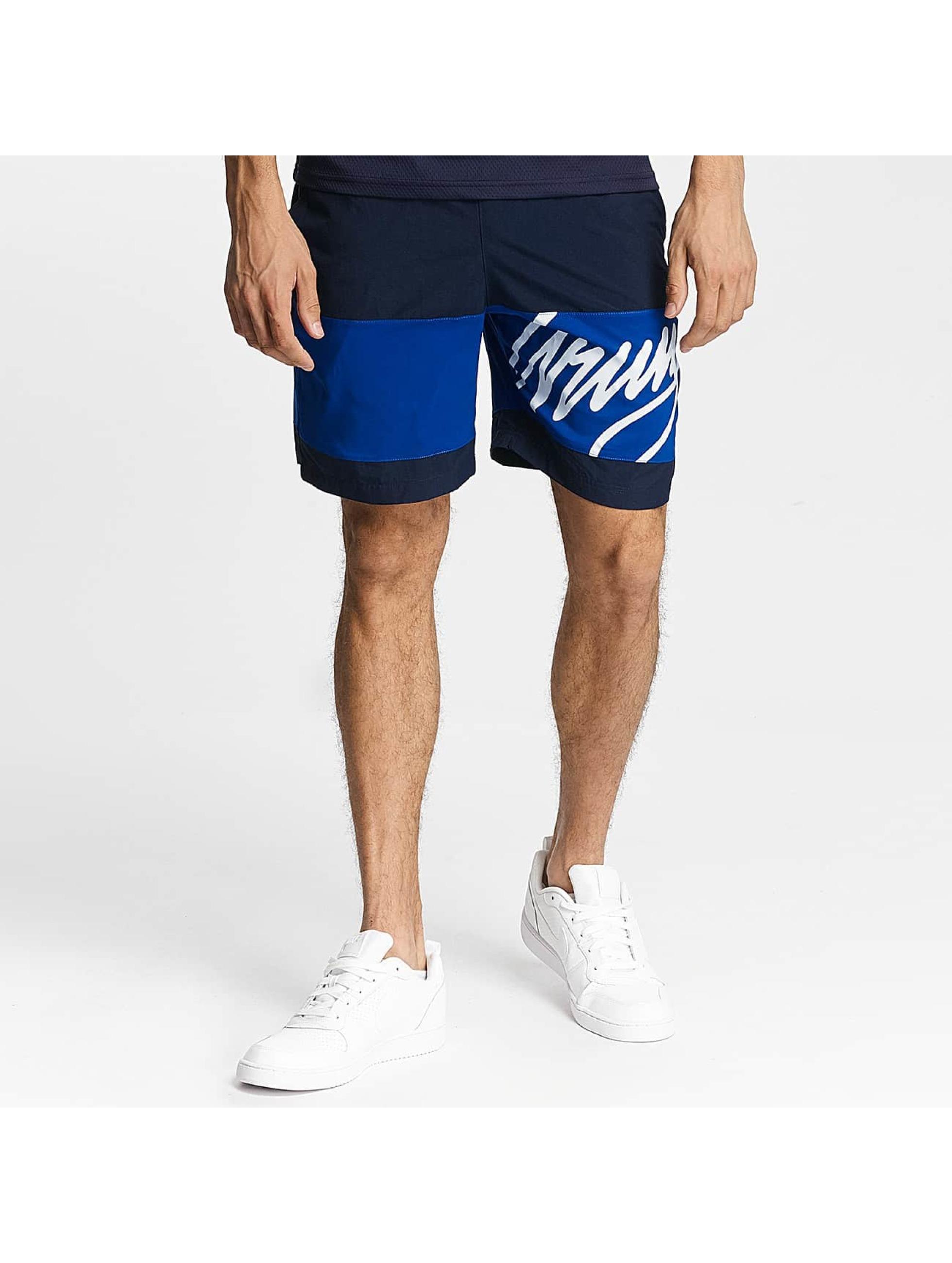 Wrung Division Shorts Alpha blå