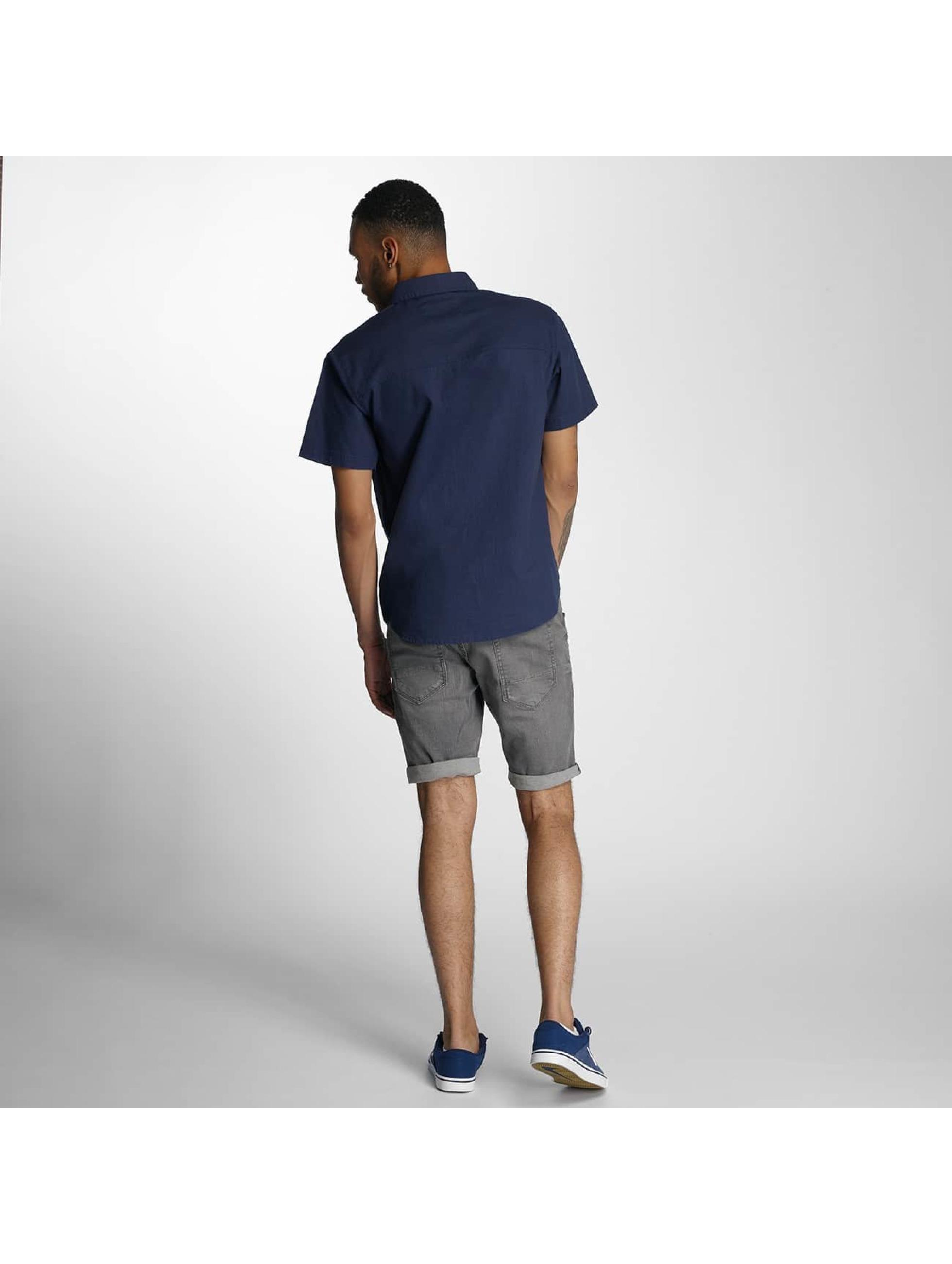 Wrung Division Skjorter Linen indigo