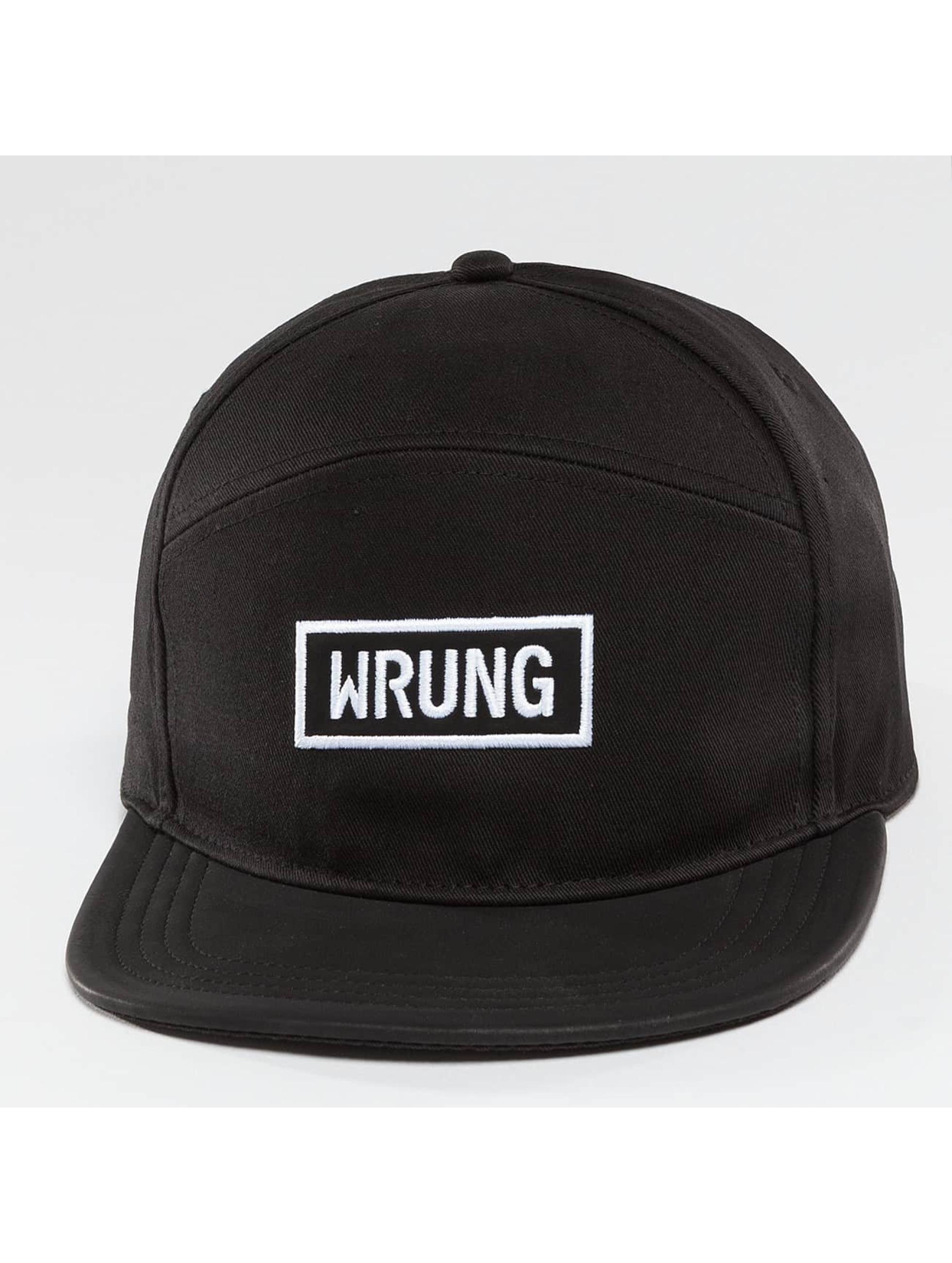 Wrung Division Snapback Box èierna