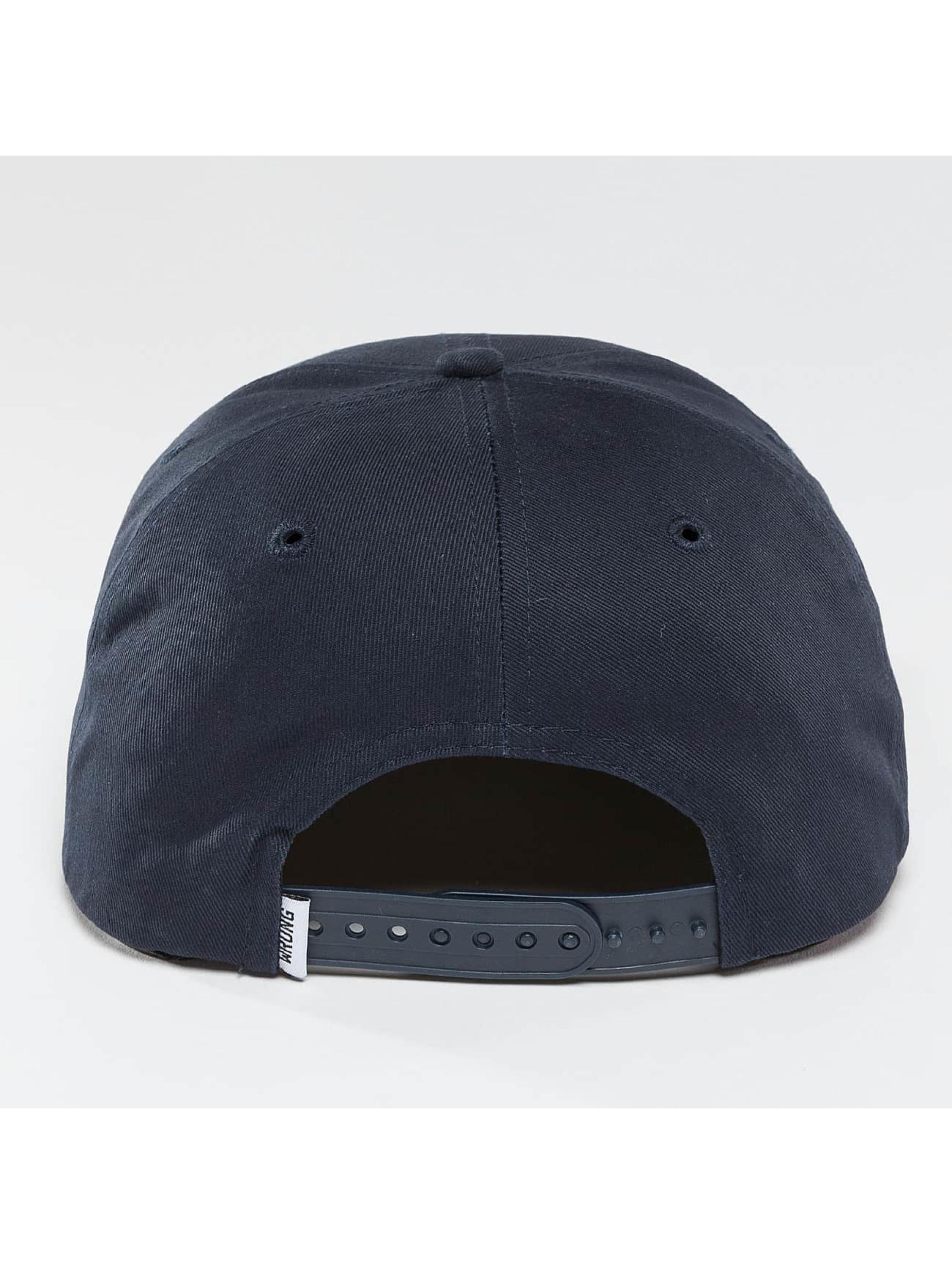 Wrung Division Snapback Cap Block blue
