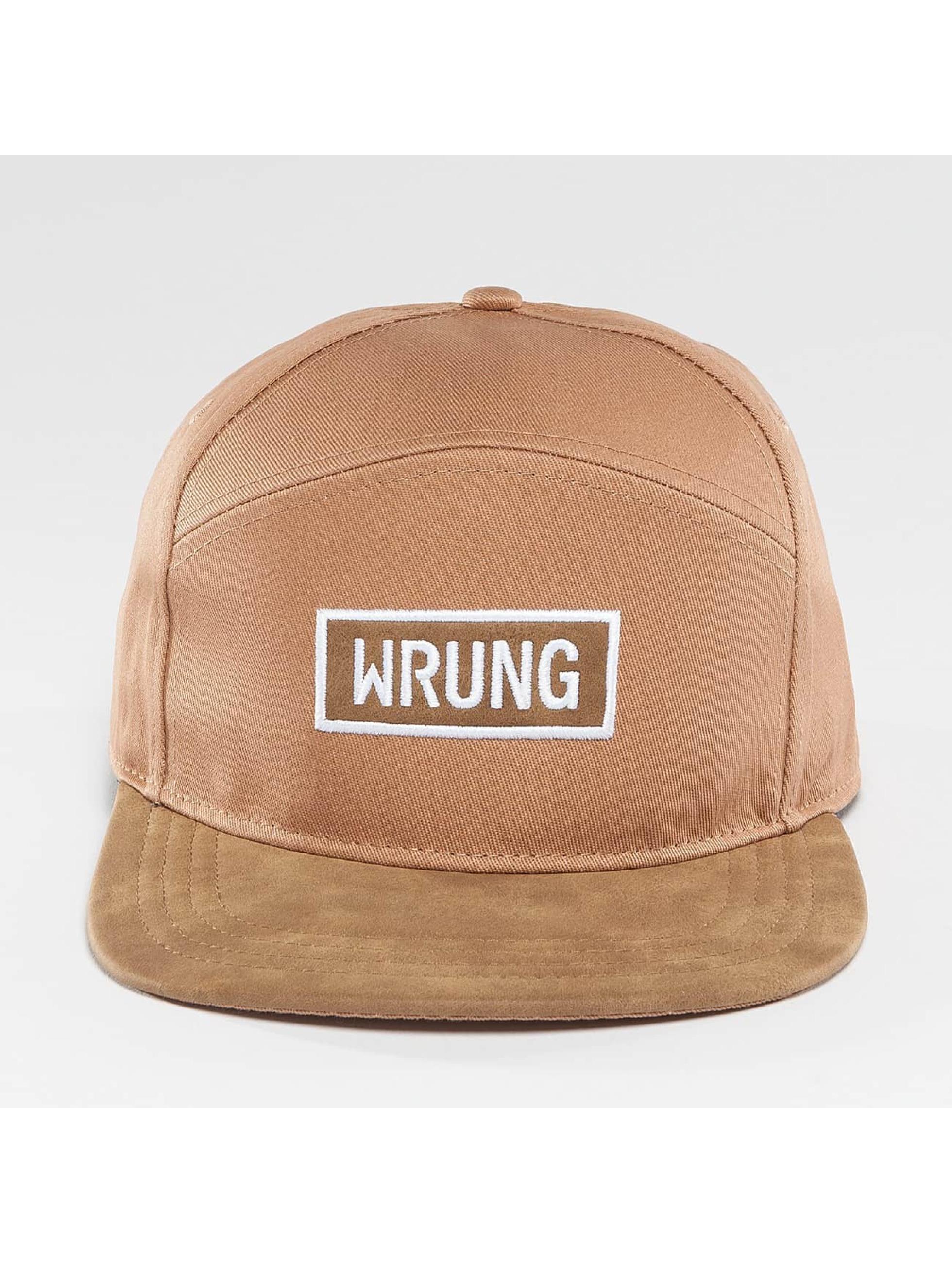 Wrung Division Snapback Caps Box beige