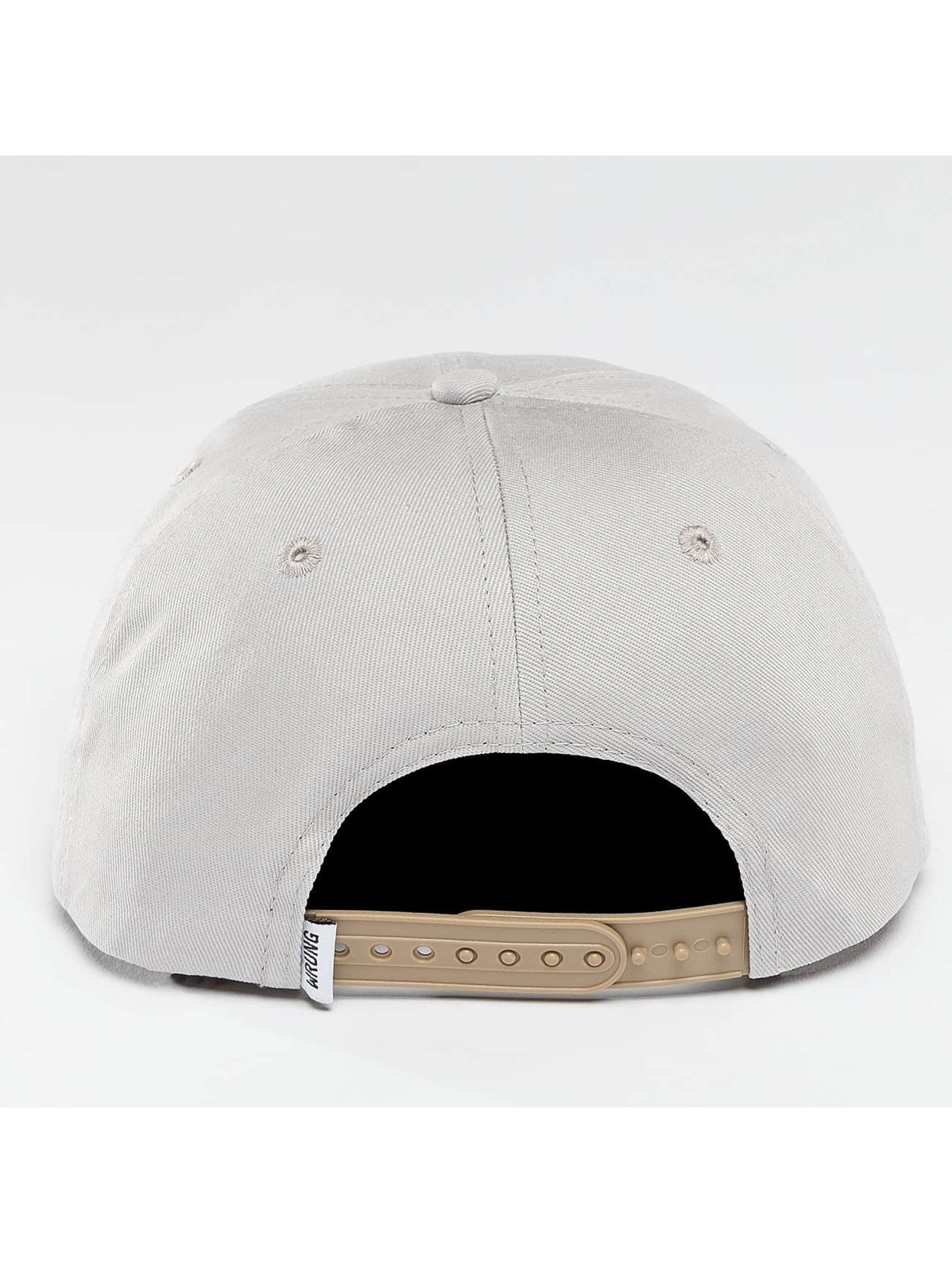Wrung Division Snapback Caps Block szary