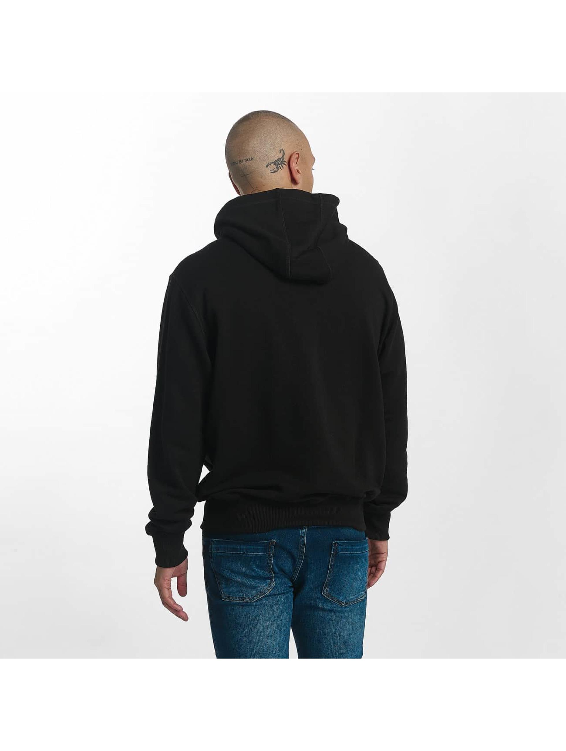 Wrung Division Sweat capuche Vintage Logo noir