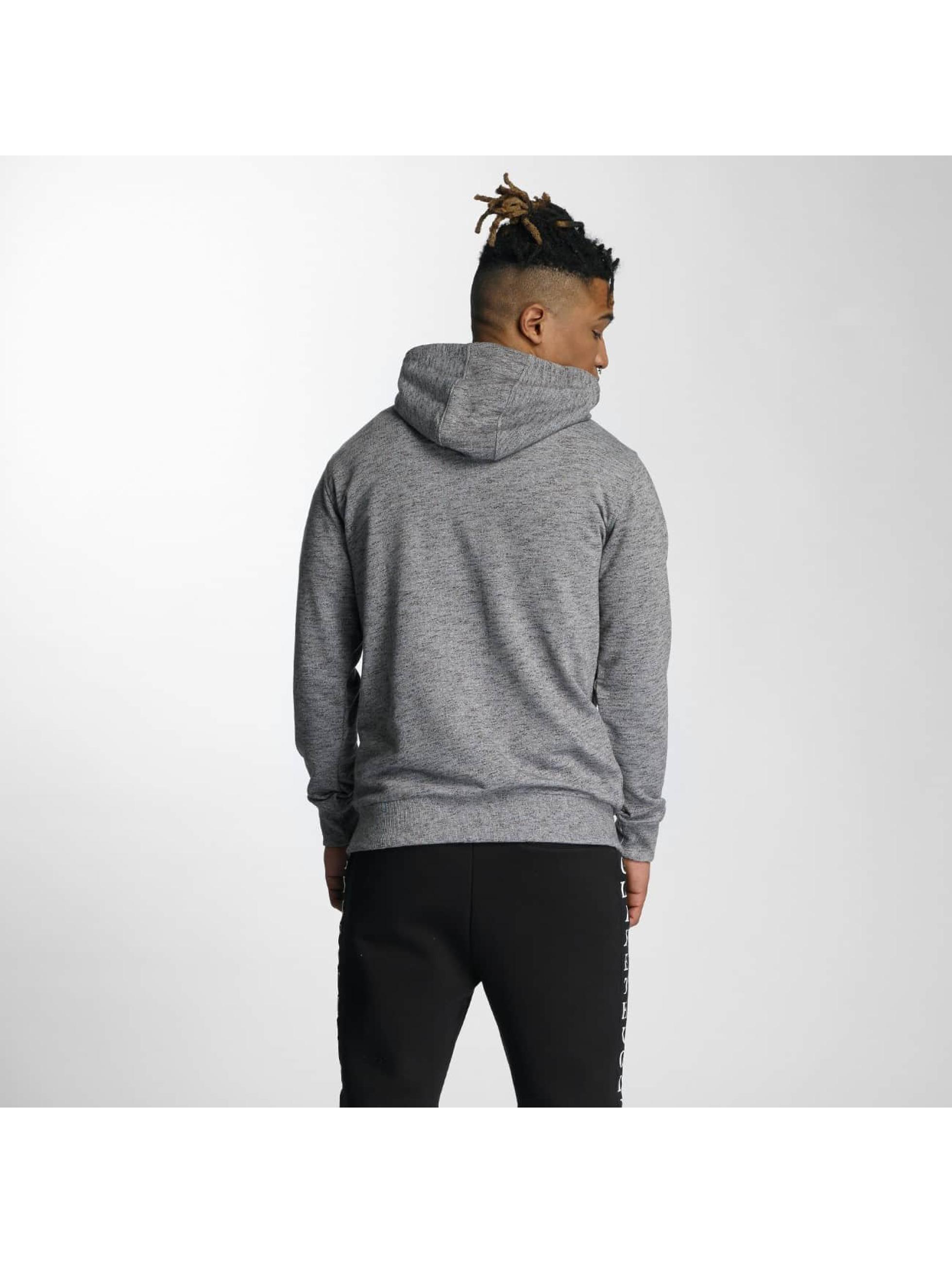 Wrung Division Sweat capuche zippé Original gris