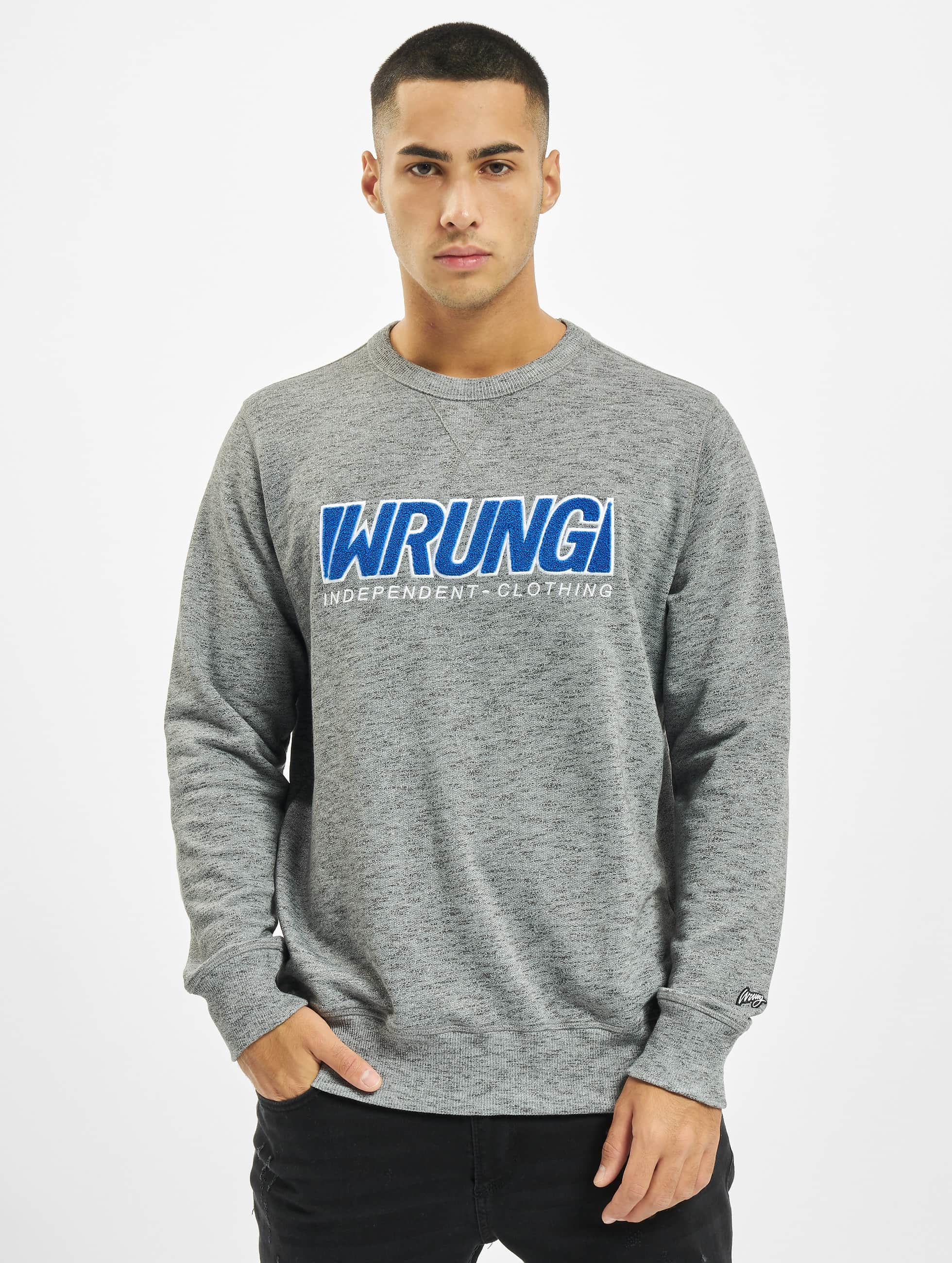 Wrung Division Swetry Step szary