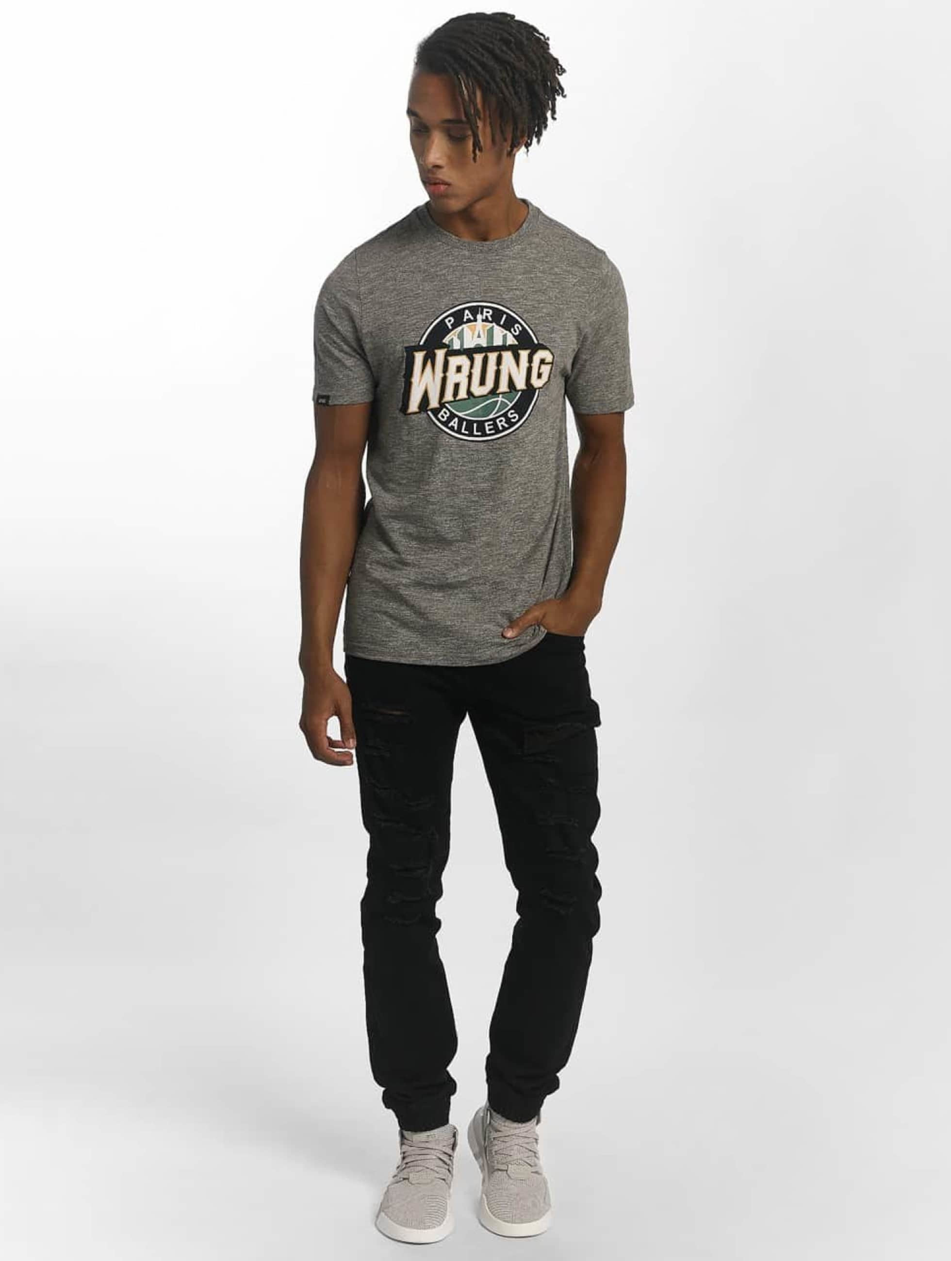 Wrung Division T-paidat Ballers harmaa