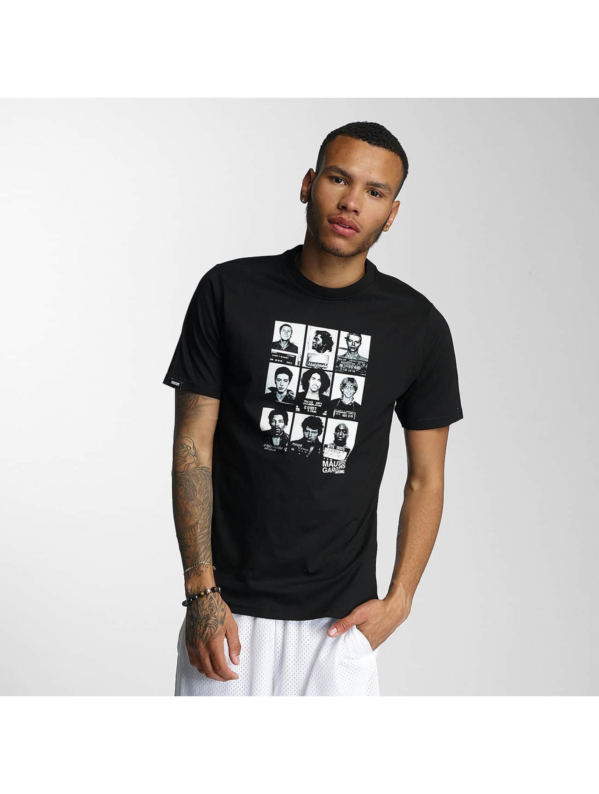 Wrung Division T-Shirt Mugshots black