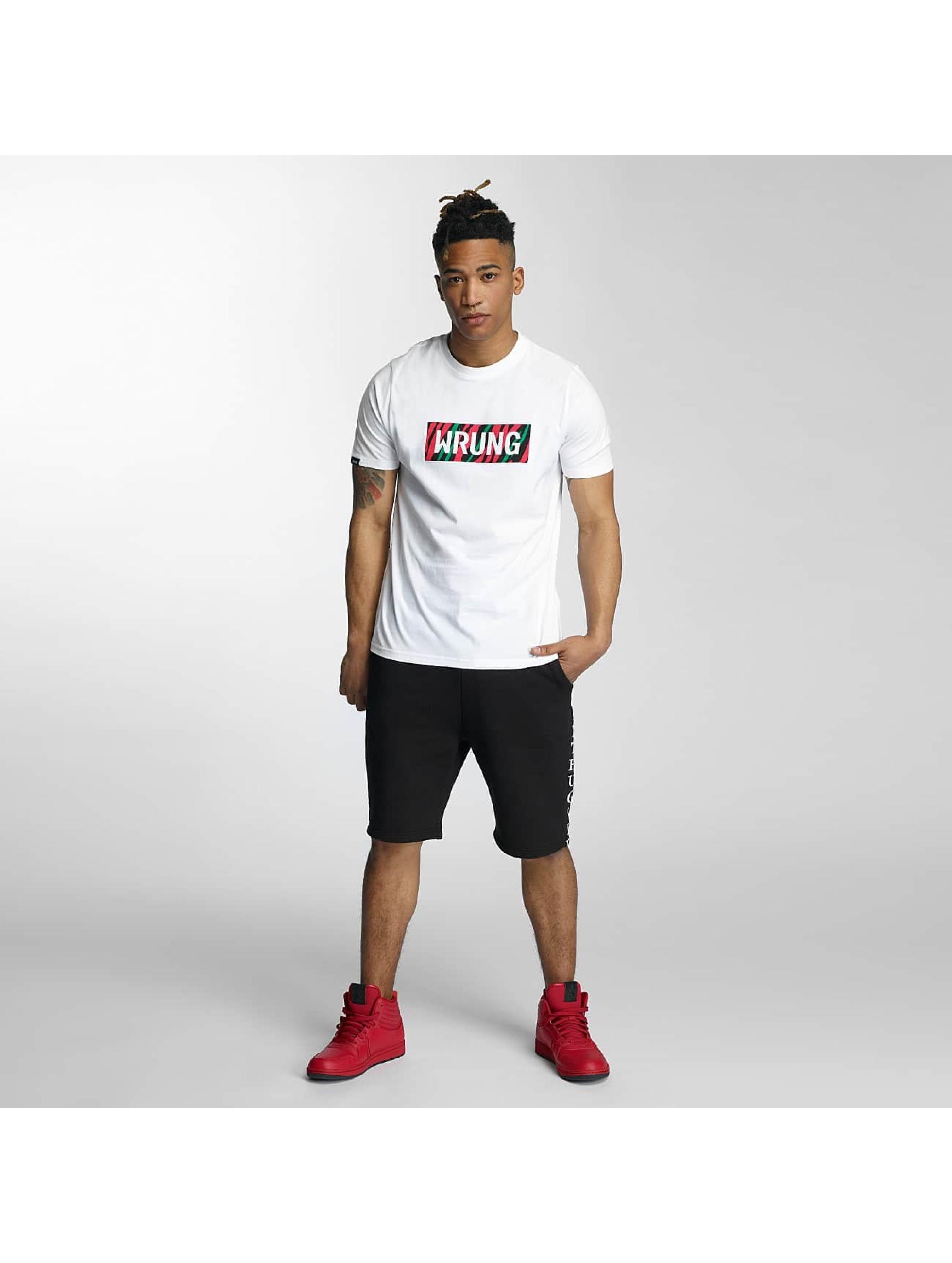 Wrung Division T-Shirt Box Phife blanc