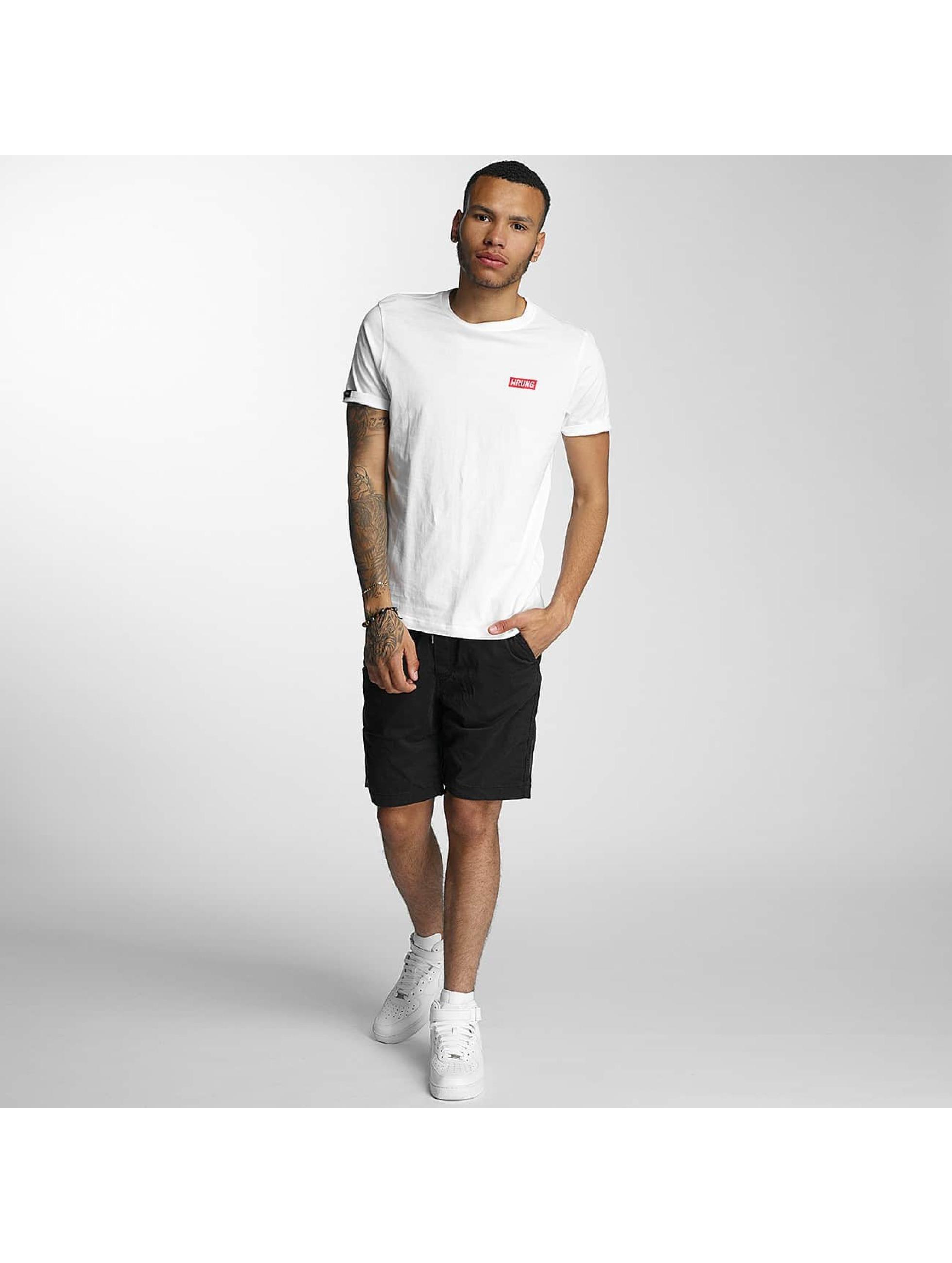 Wrung Division T-Shirt Censored blanc