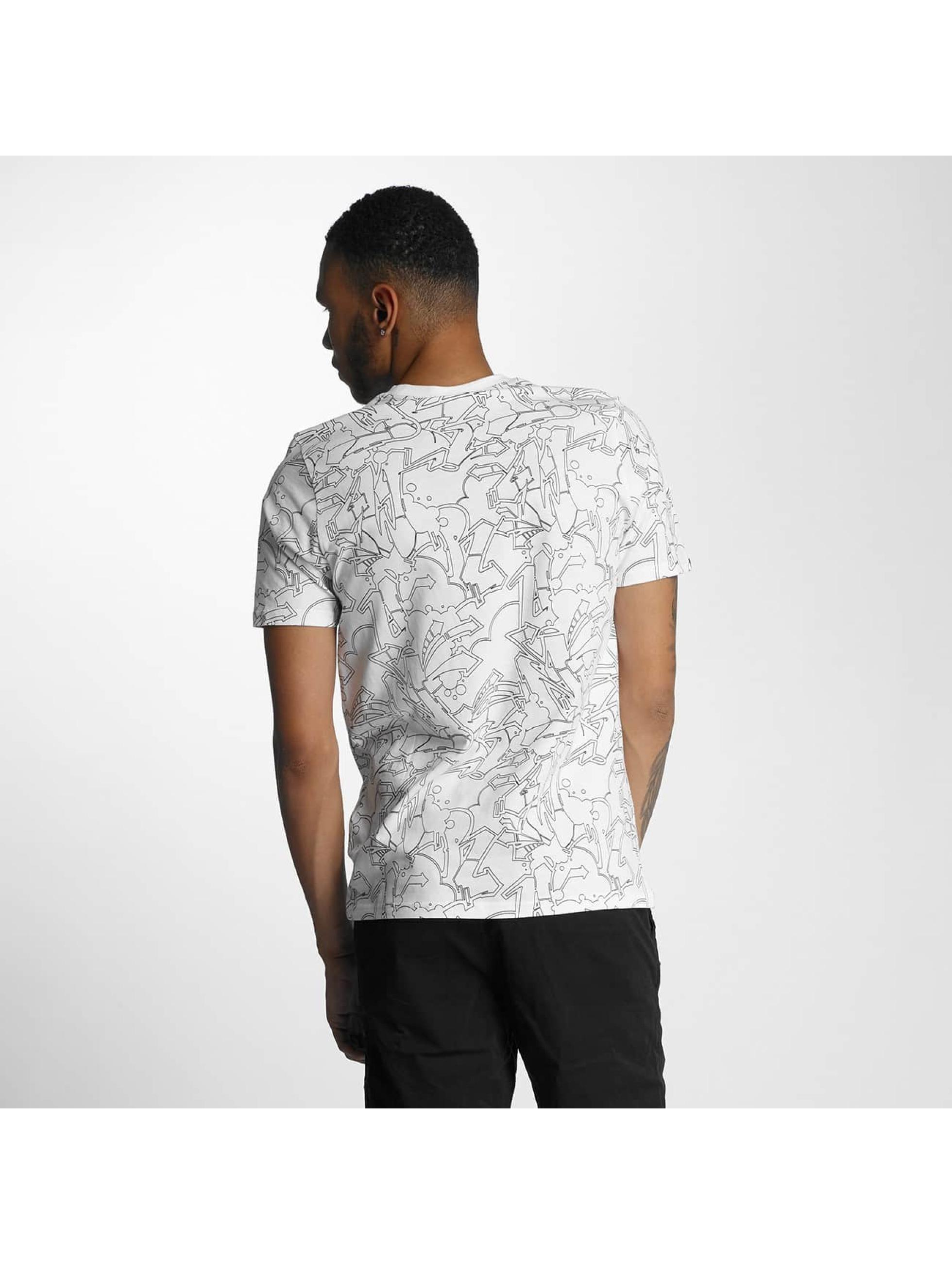 Wrung Division T-Shirt Freestyle Dize blanc