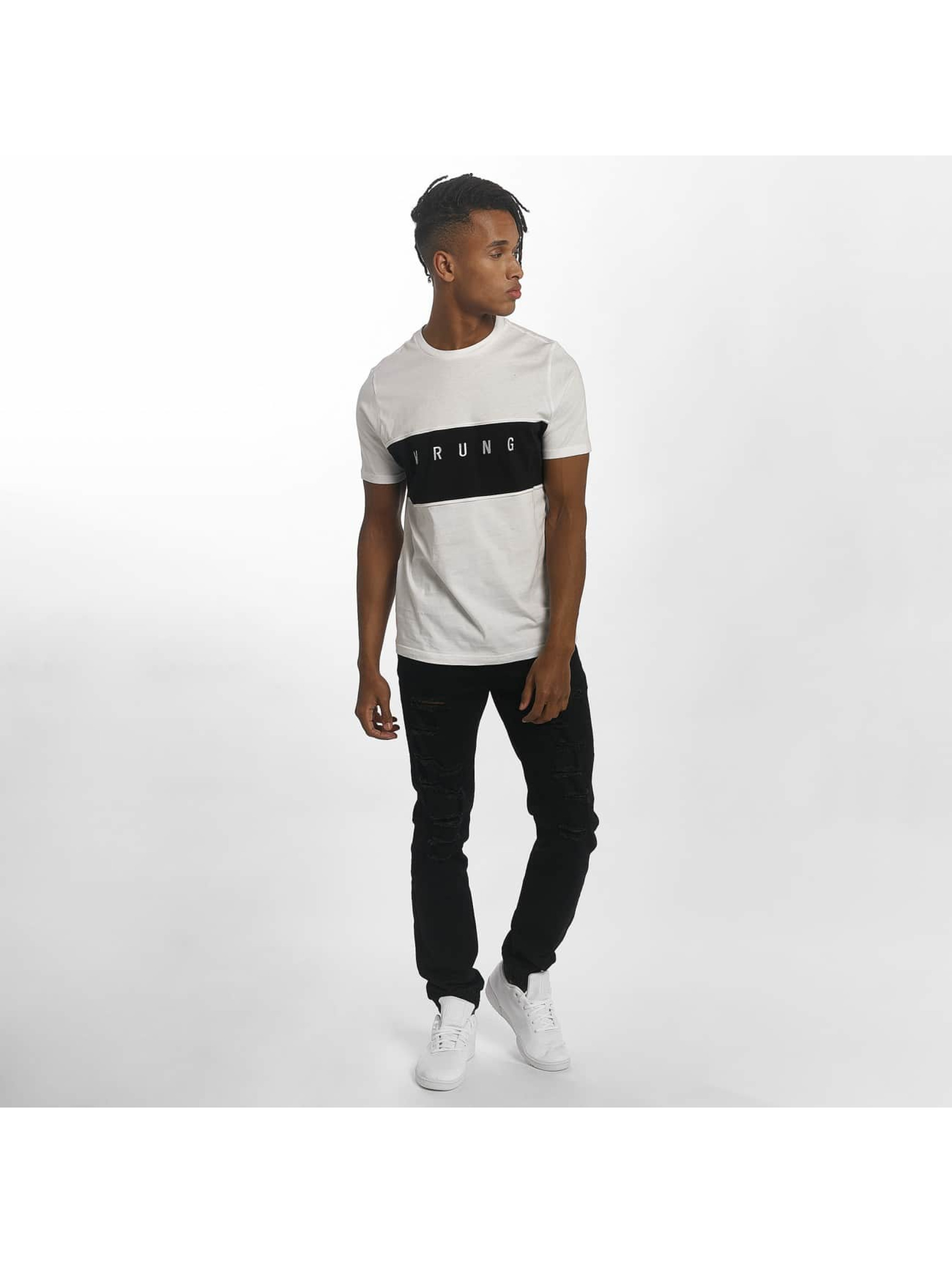 Wrung Division T-Shirt Dist blanc