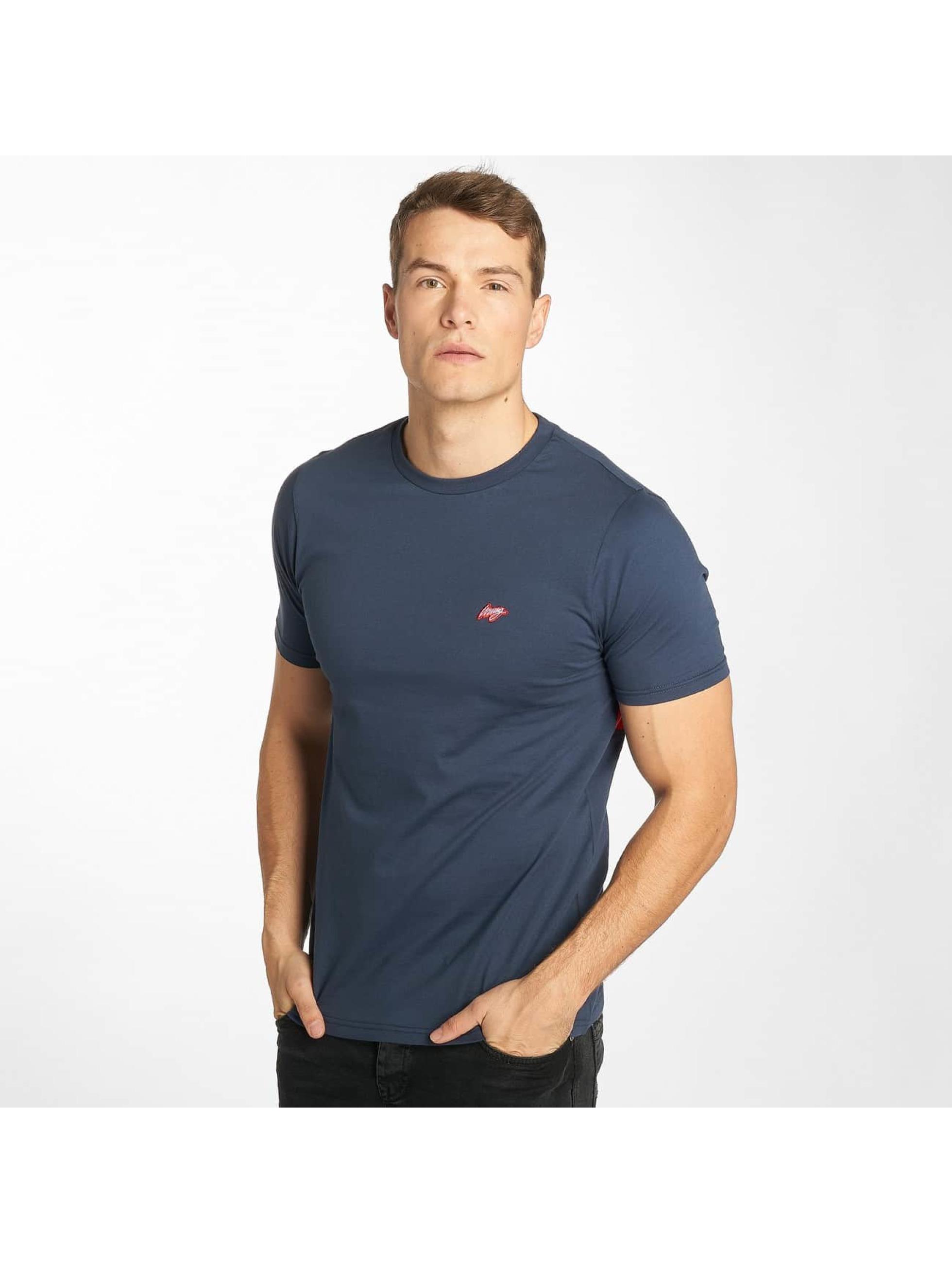Wrung Division T-Shirt Backer blau
