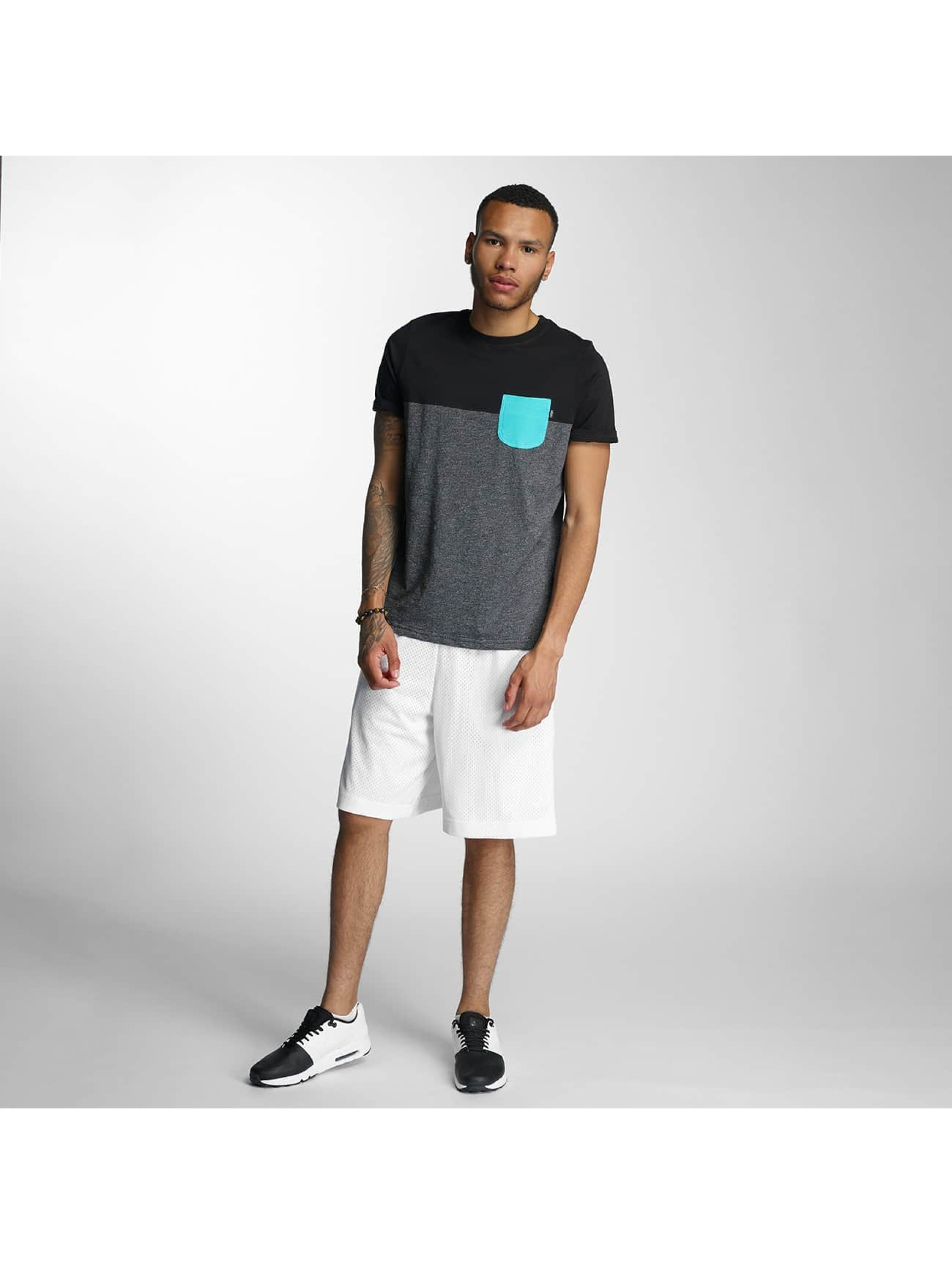 Wrung Division T-Shirt Pocket gris