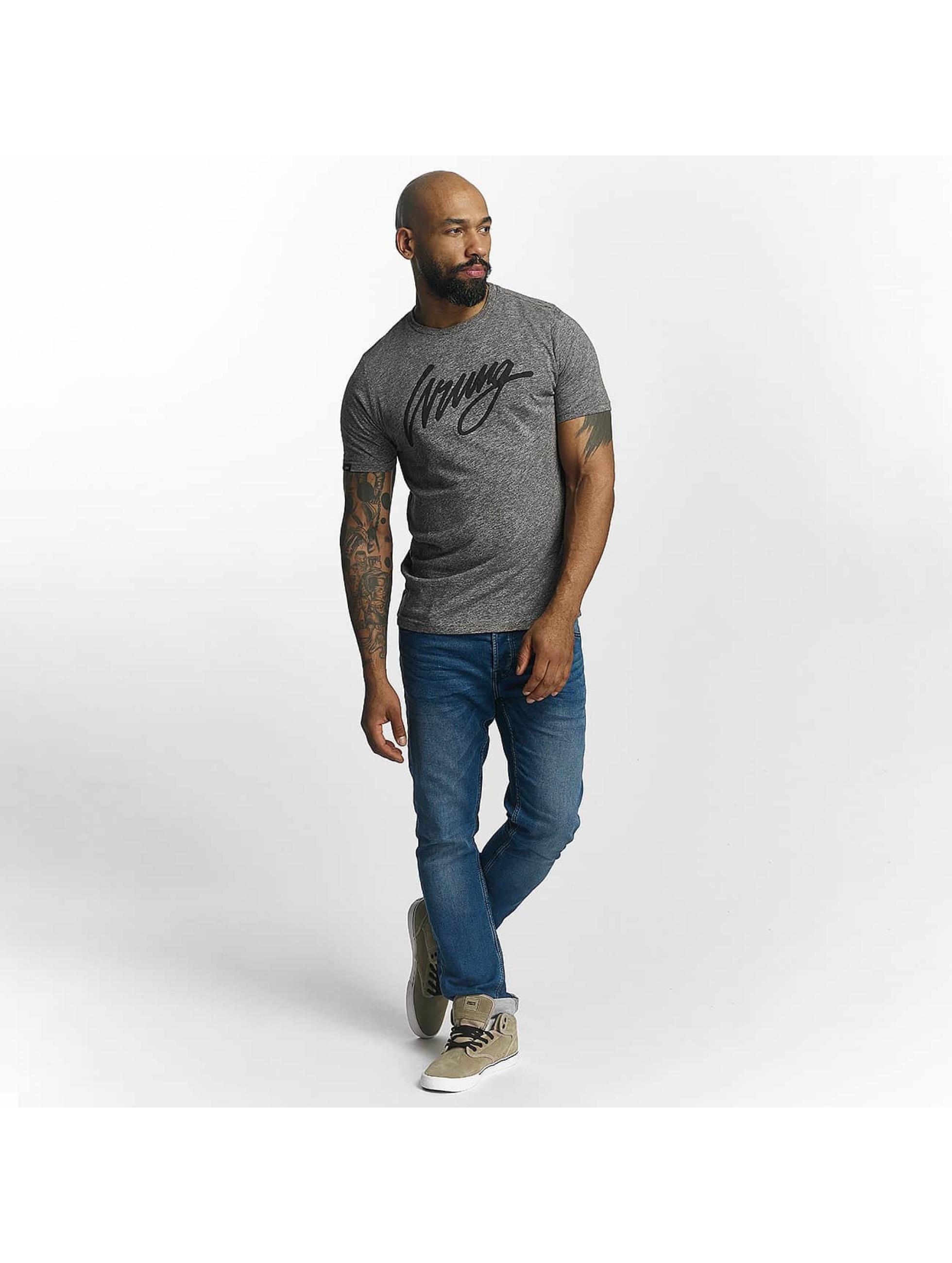 Wrung Division T-Shirt Signature gris