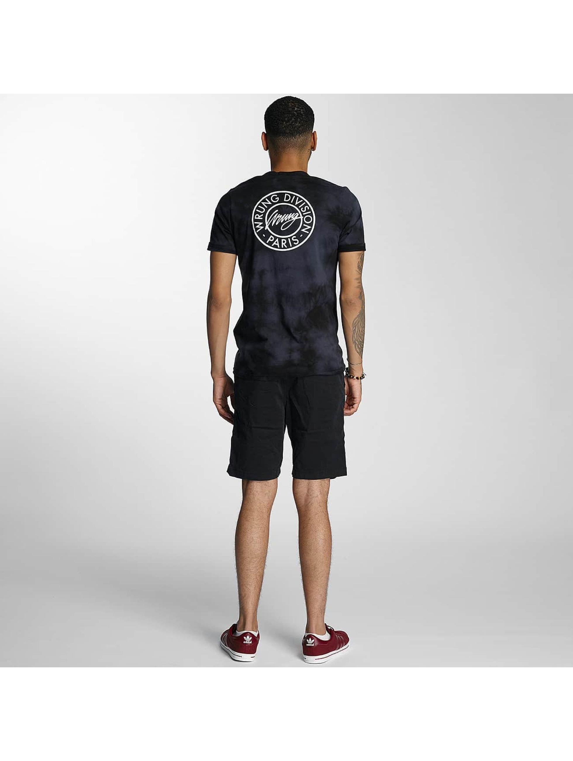 Wrung Division T-Shirt 75TH DIV noir