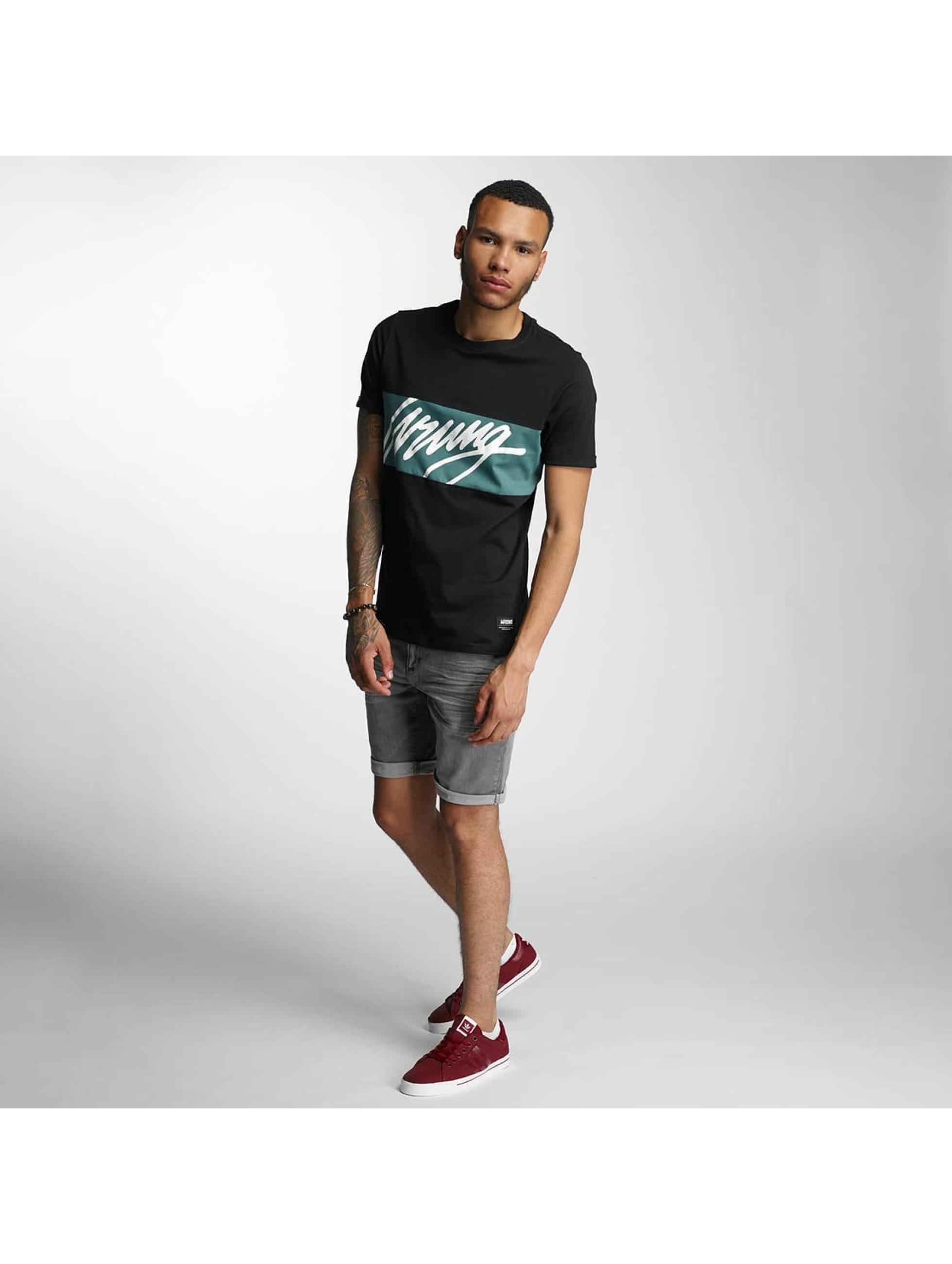 Wrung Division T-Shirt Flow schwarz