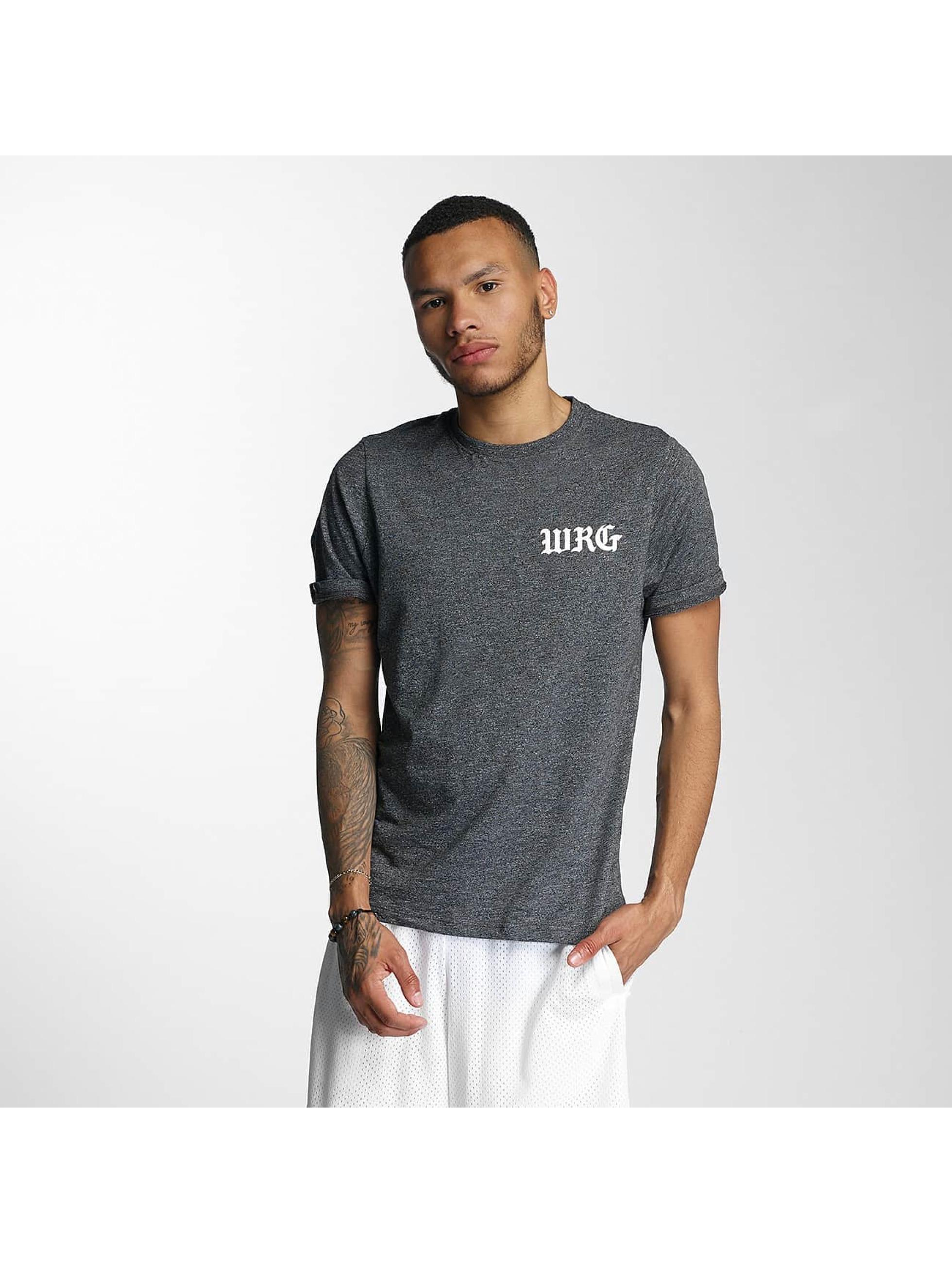 Wrung Division T-Shirt Real OG schwarz
