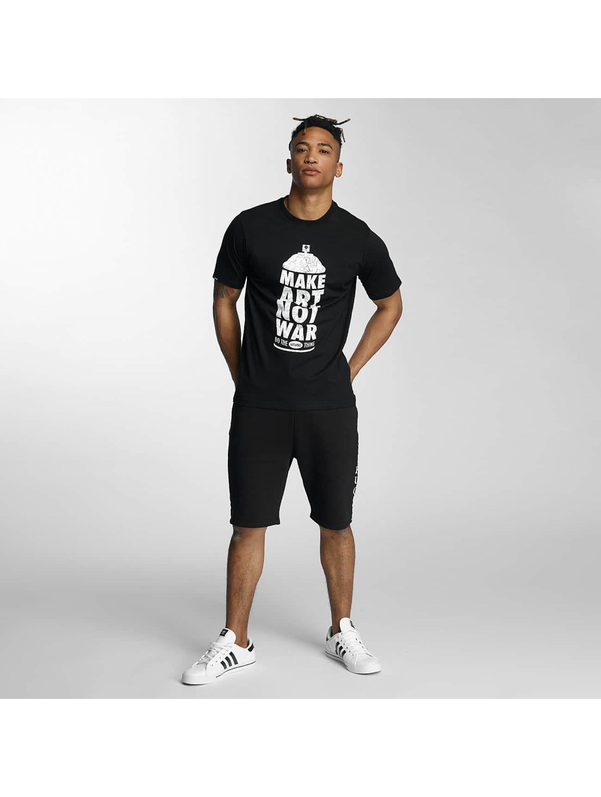 Wrung Division T-Shirt Manw Dize schwarz