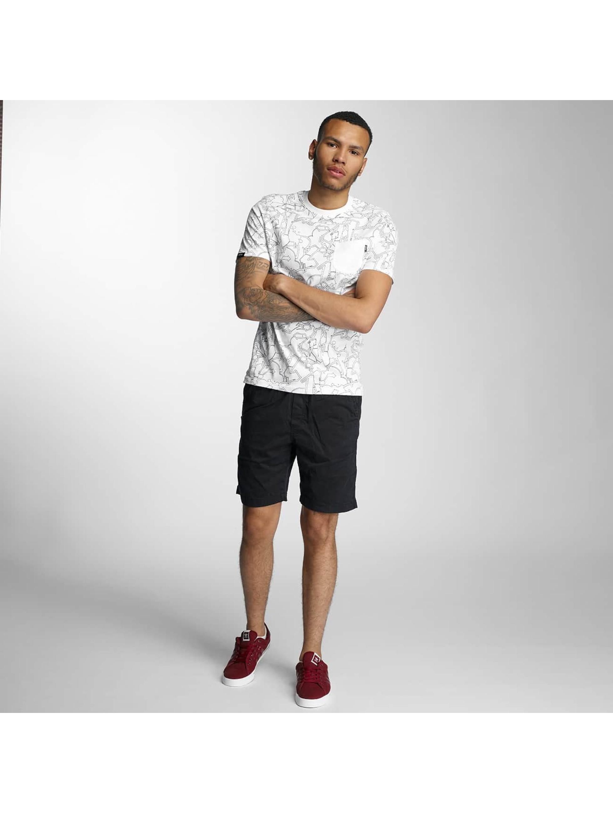 Wrung Division T-Shirt Freestyle Dize weiß