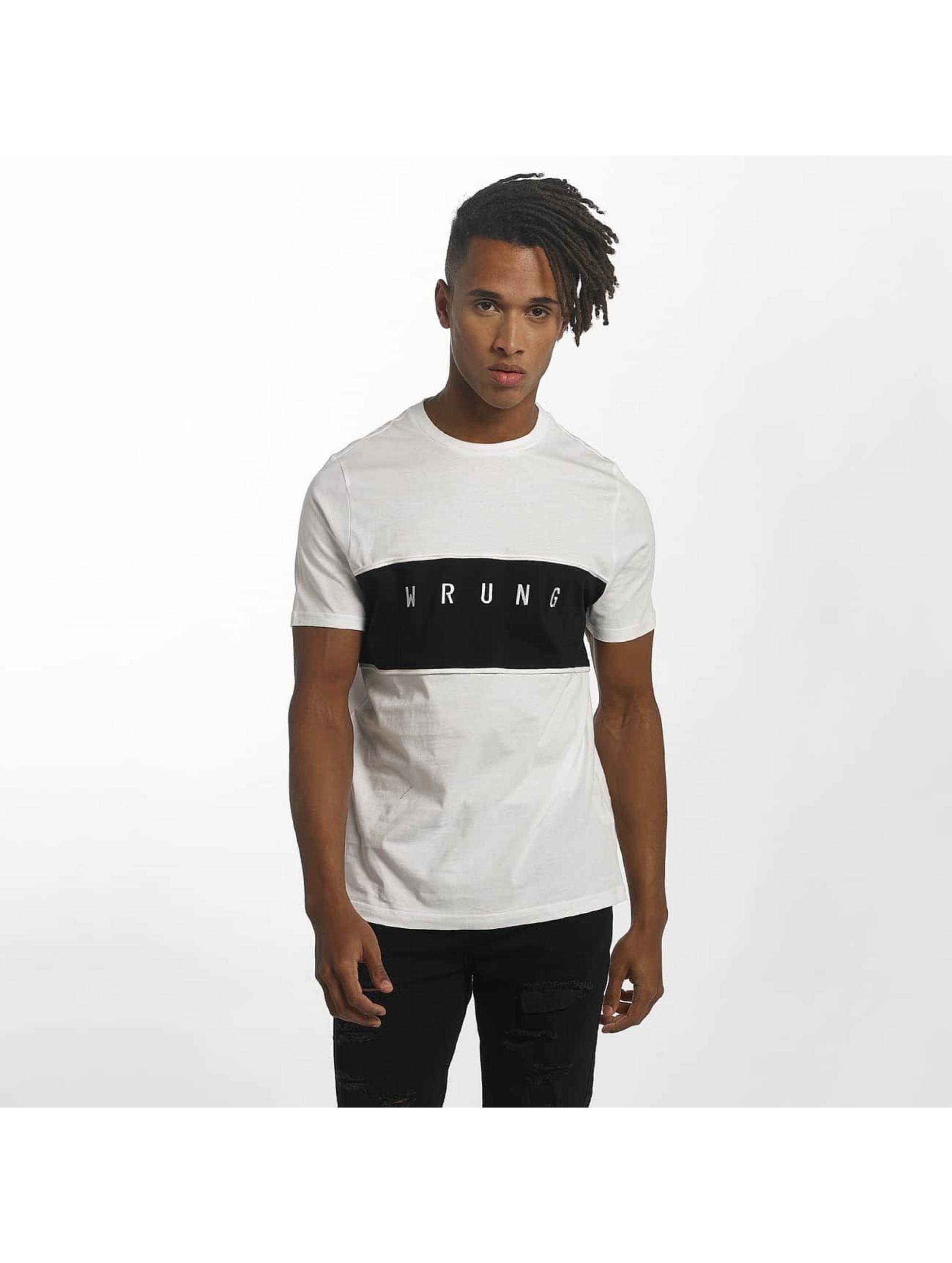 Wrung Division T-Shirt Dist weiß